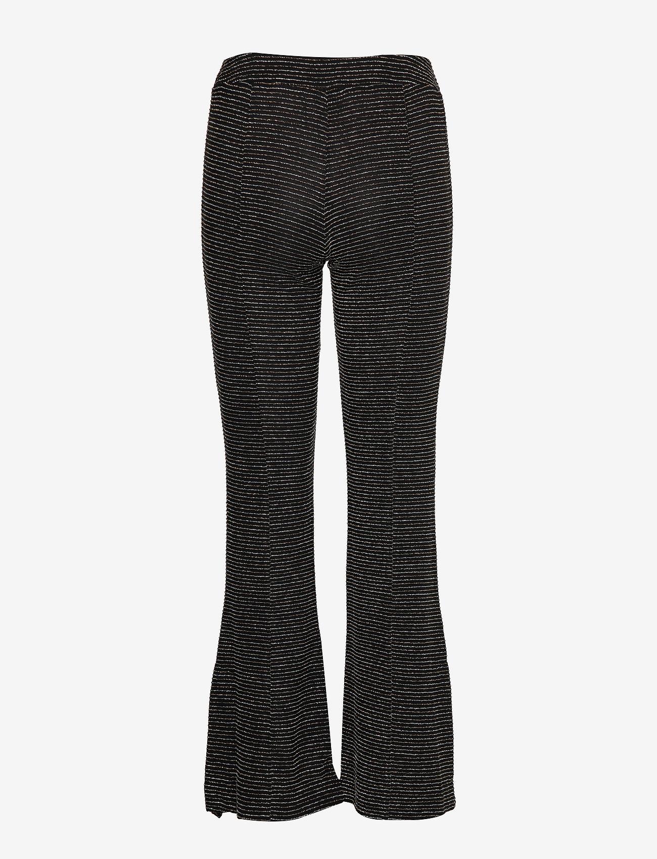 STINE GOYA Melanie, 772 Glitter Jersey - Spodnie BLACK - Kobiety Odzież.