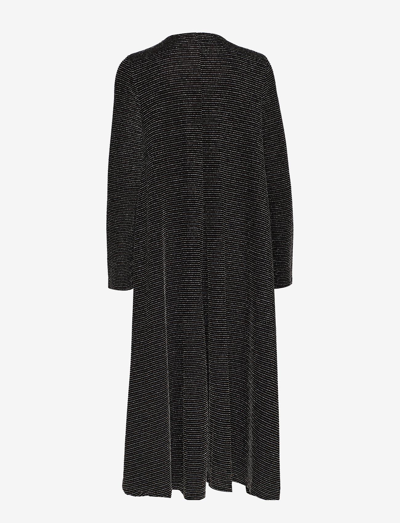 STINE GOYA Lauren, 772 Glitter Jersey - Sukienki BLACK - Kobiety Odzież.