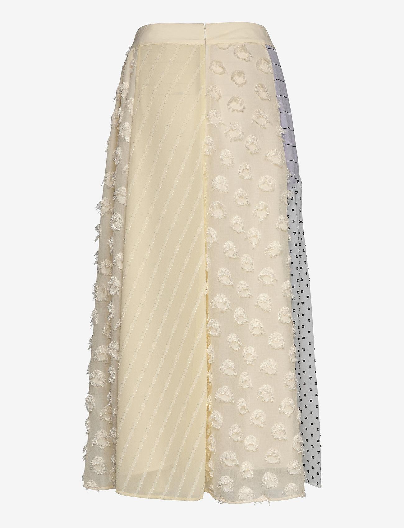 STINE GOYA - Maribelle, 845 Chiffon Mix - midi kjolar - daffodil - 1