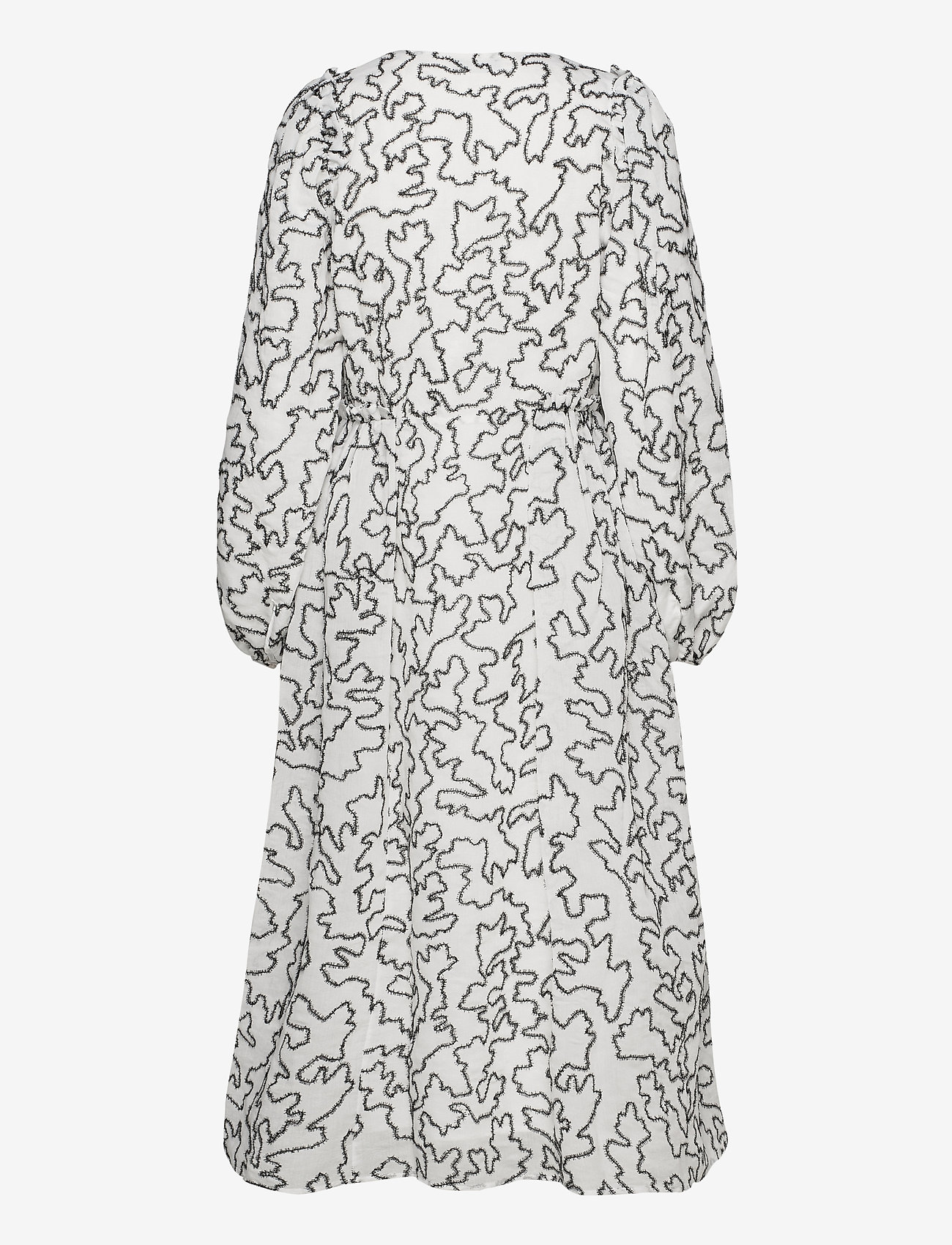 STINE GOYA - Bernard, 940 Lurex Organza - slå-om-kjoler - birch white - 2