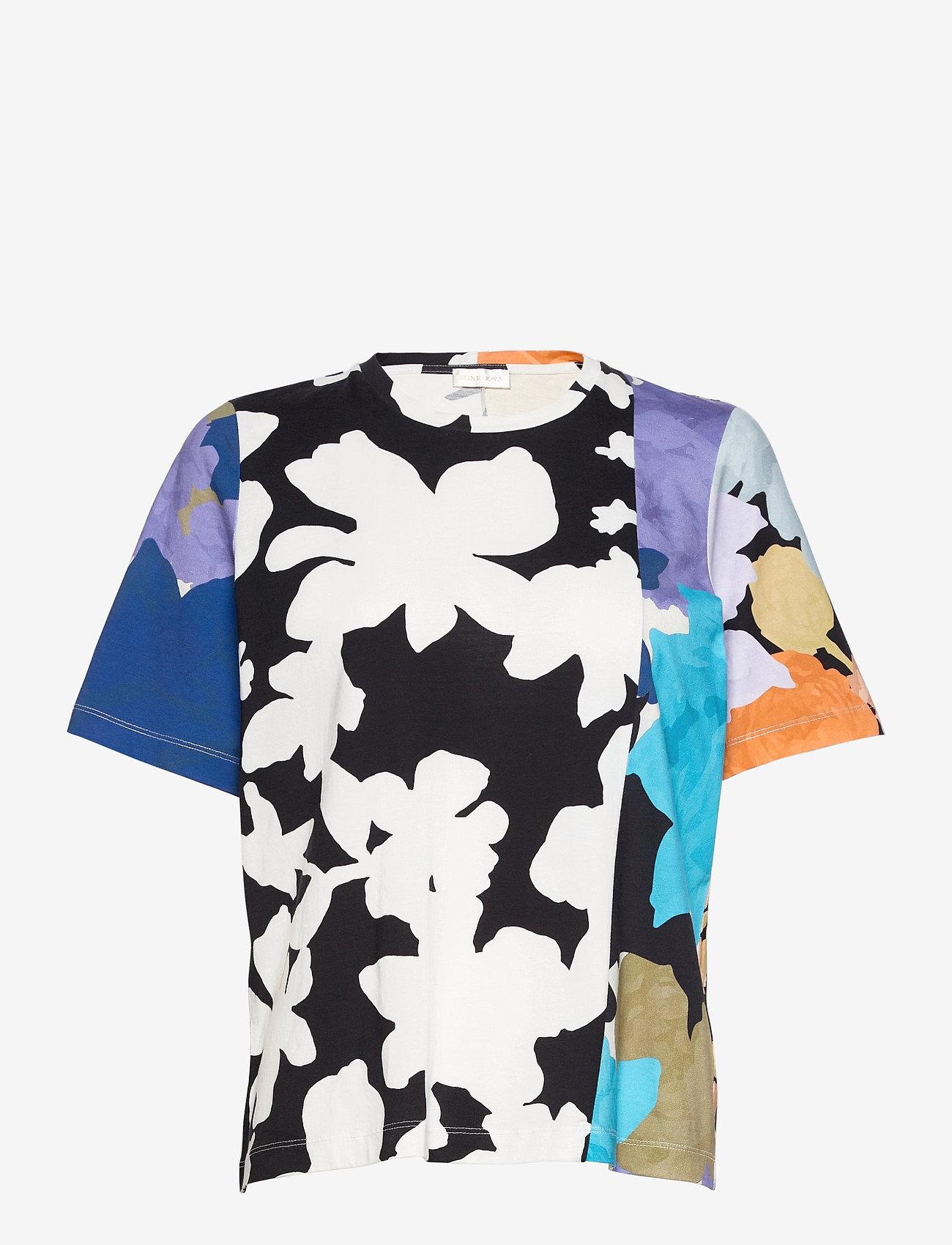 STINE GOYA - Leonie C, 1000 Allover Tee - t-shirts - floral mix - 1