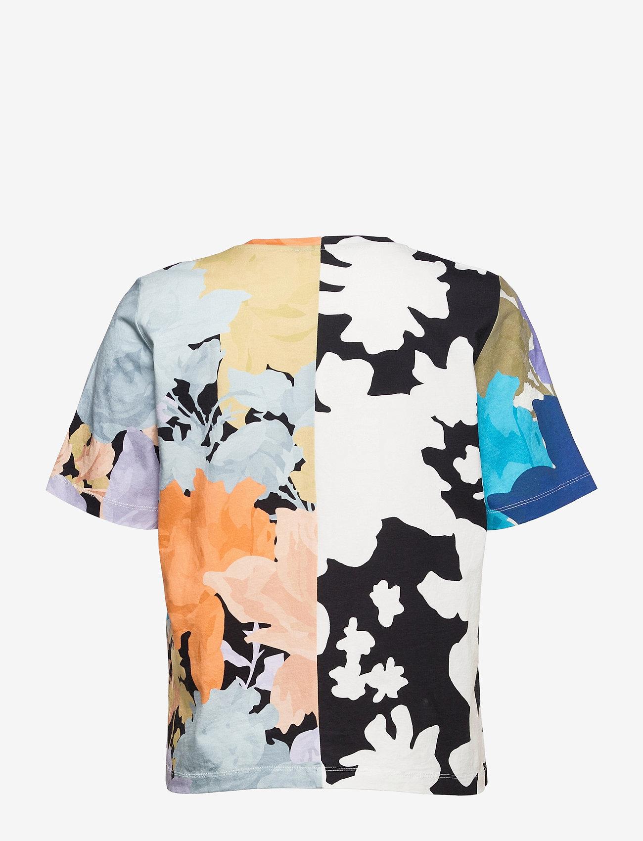 STINE GOYA - Leonie C, 1000 Allover Tee - t-shirts - floral mix - 2
