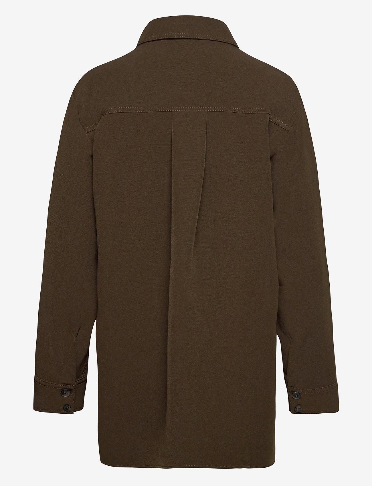 STINE GOYA - Shania, 1041 Solid Cady - kläder - cedar - 2