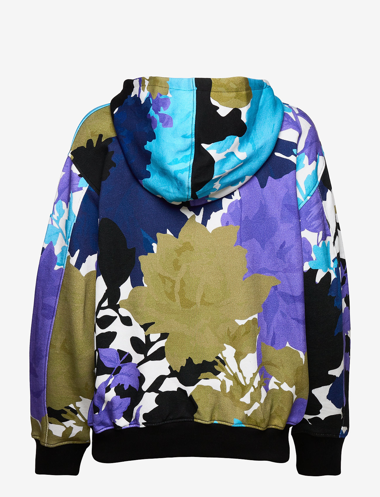 STINE GOYA - Adrisa, 1080 Hoodie - sweatshirts & hættetrøjer - rosegarden blue - 2
