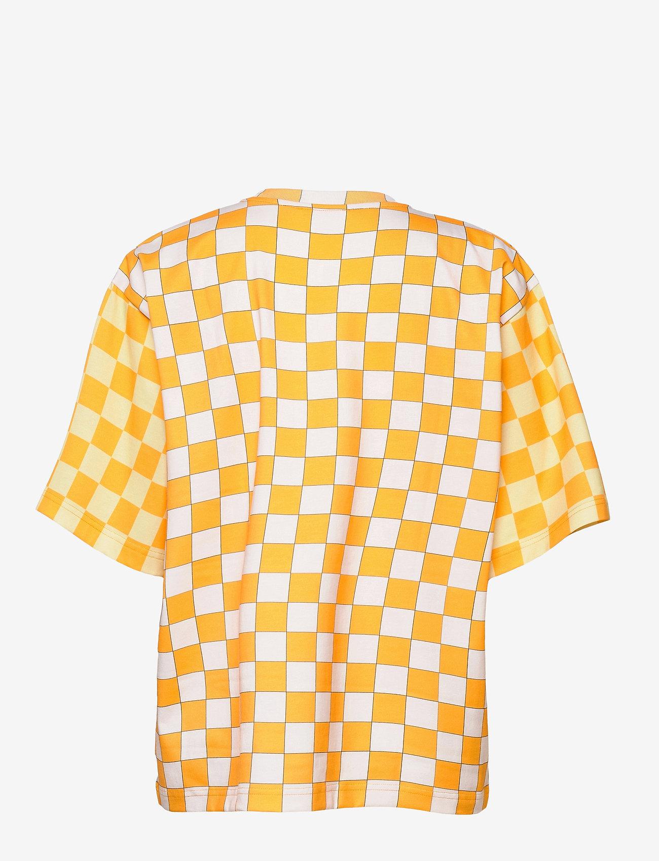 STINE GOYA - Katalina, 1083 Allover Tee - t-shirts - checks - 1