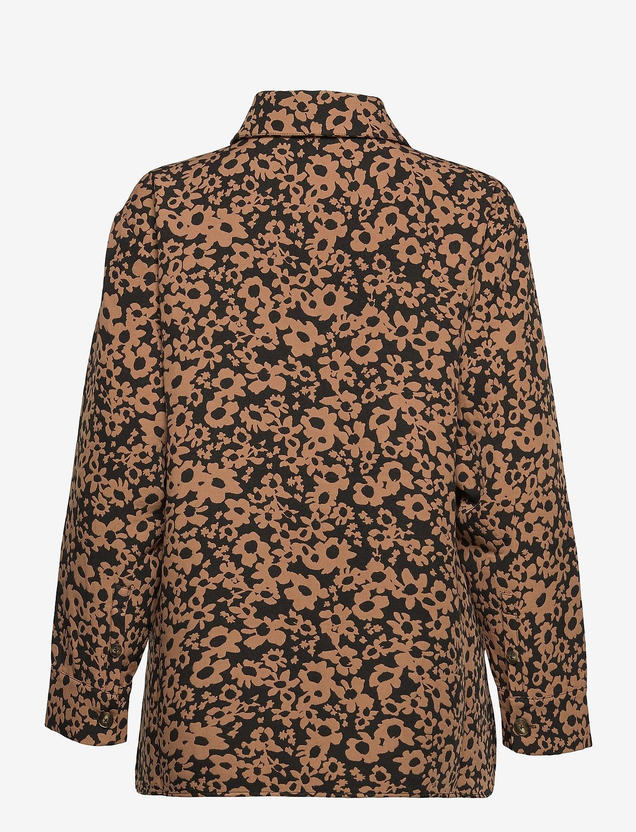 STINE GOYA - Silvi, 1033 Stretch Jacquard - långärmade skjortor - daisy - 2