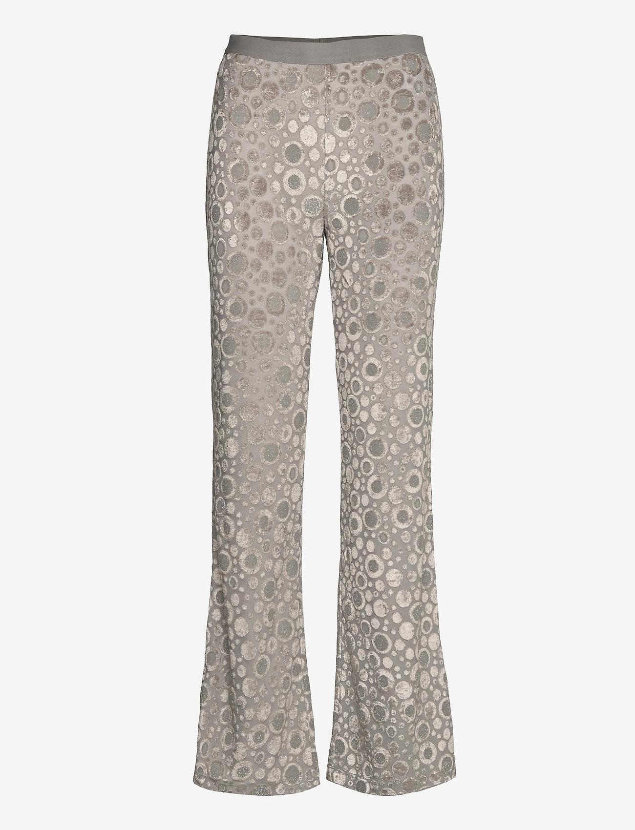 STINE GOYA - Andy, 1087 Velvet Devoré - tøj - dots silver - 0
