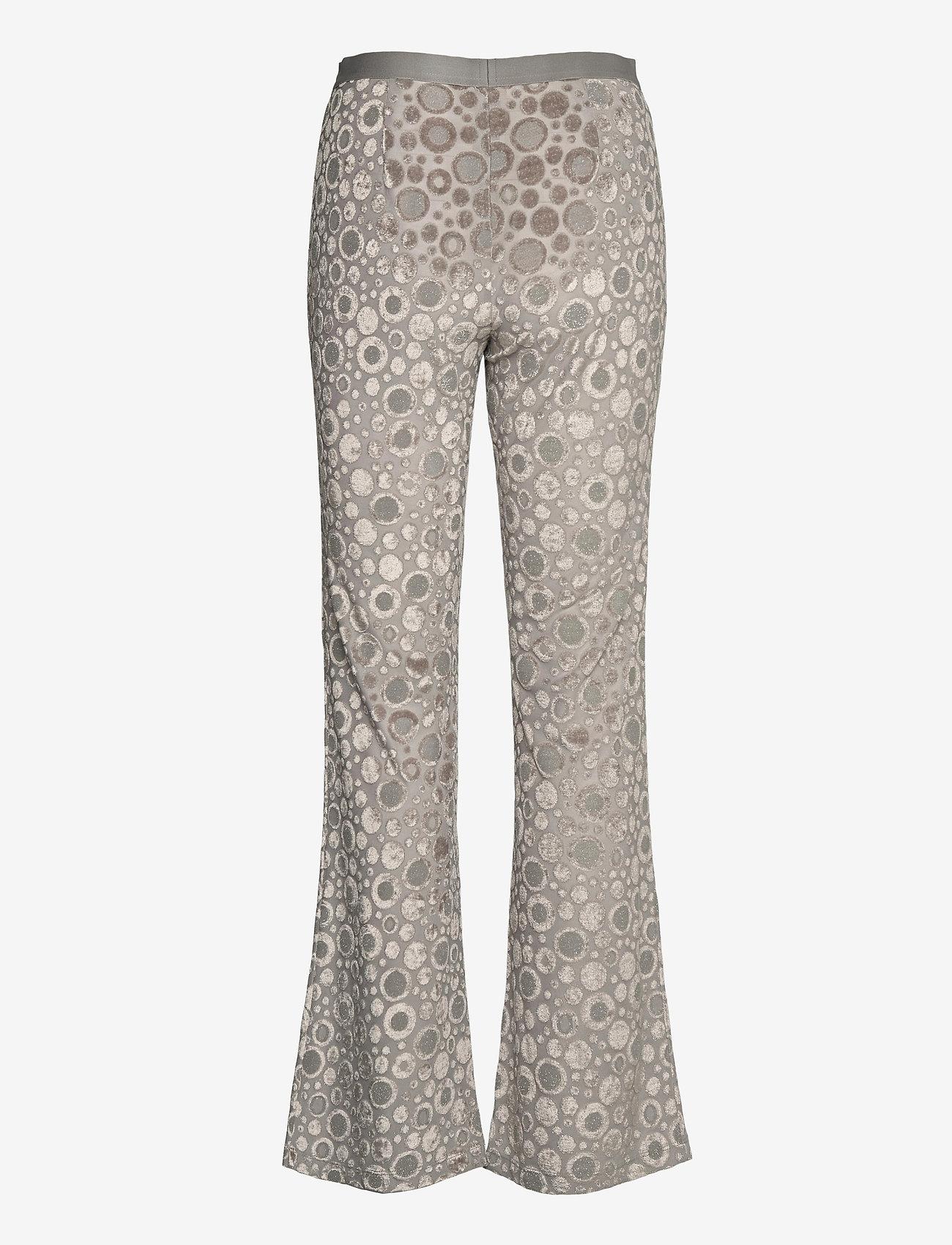 STINE GOYA - Andy, 1087 Velvet Devoré - tøj - dots silver - 1
