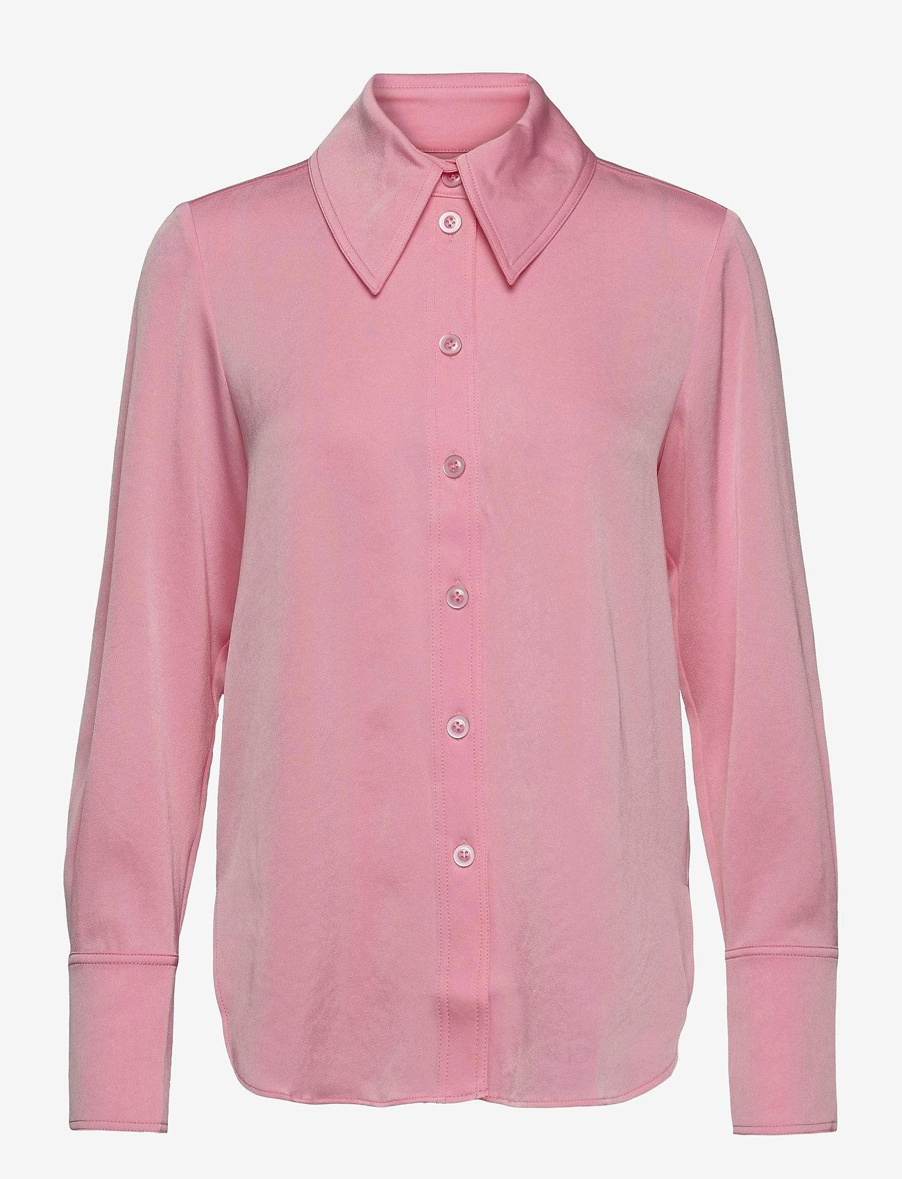 STINE GOYA - James, 1137 Sheen Cady - langærmede skjorter - pink - 1