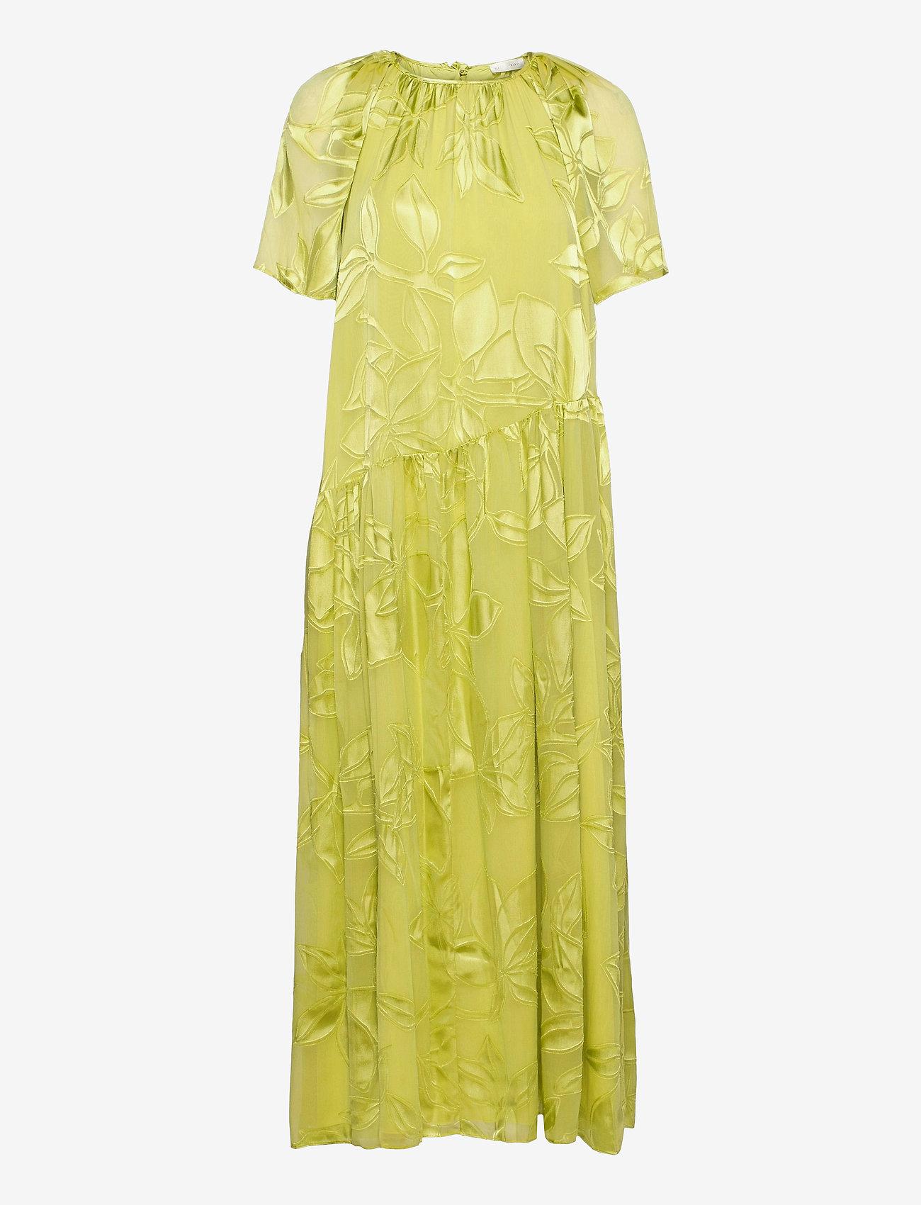 STINE GOYA - Addyson, 1107 Lemon Chiffon - sommerkjoler - lemon - 1