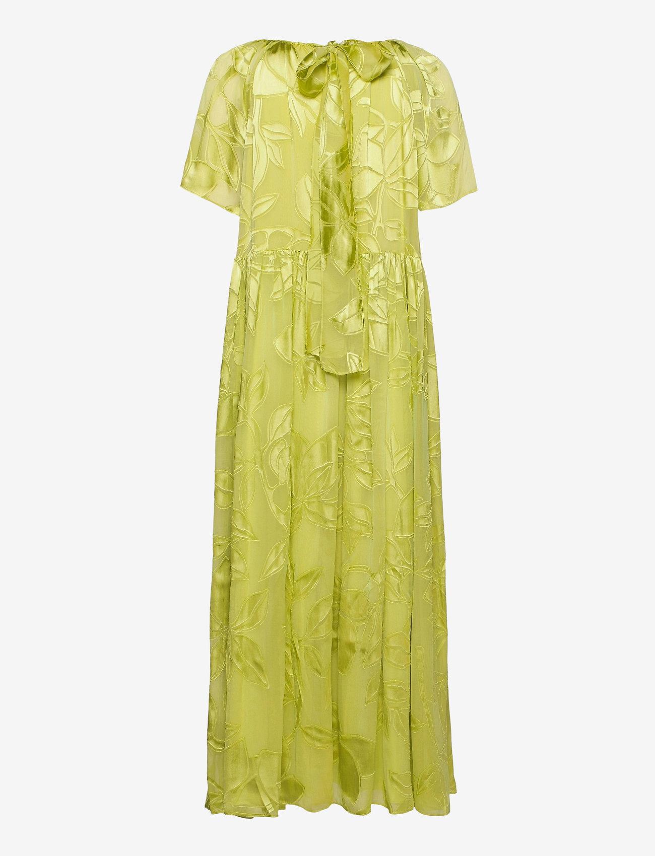 STINE GOYA - Addyson, 1107 Lemon Chiffon - sommerkjoler - lemon - 2