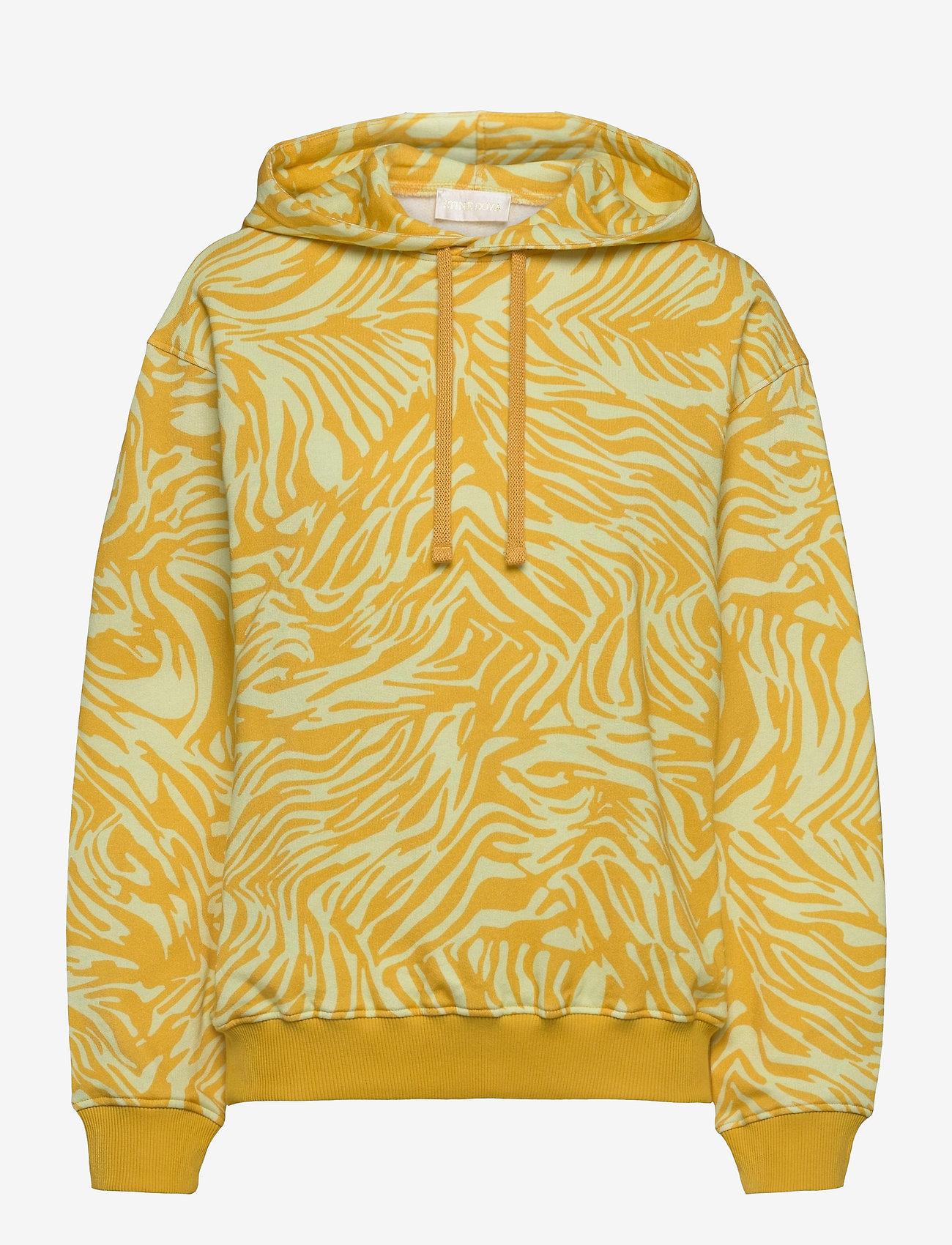 STINE GOYA - Adrisa, 1093 Tracksuit Zebra - sweatshirts & hættetrøjer - zebra orange - 1