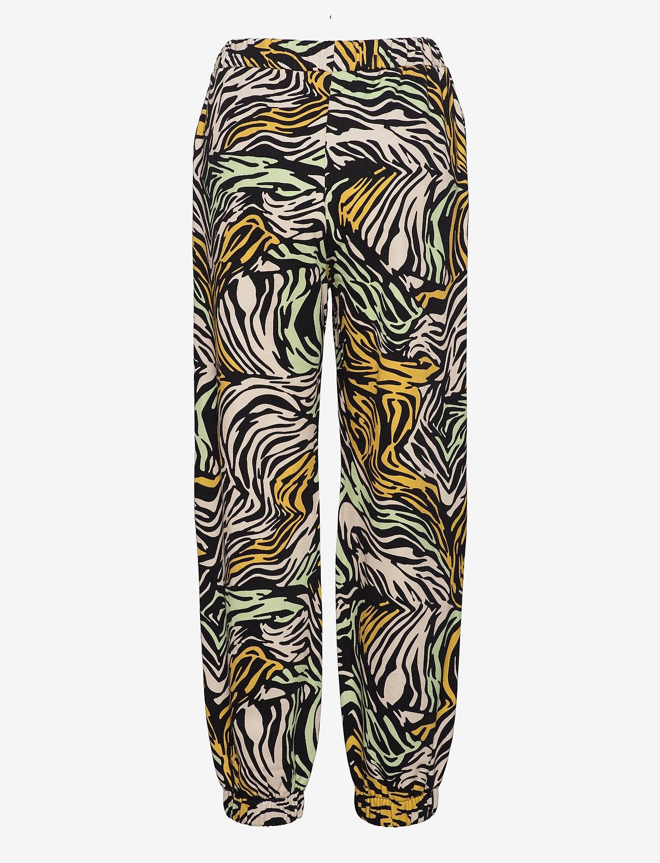 STINE GOYA - Zaza, 1093 Tracksuit Zebra - raka byxor - zebra multi - 2