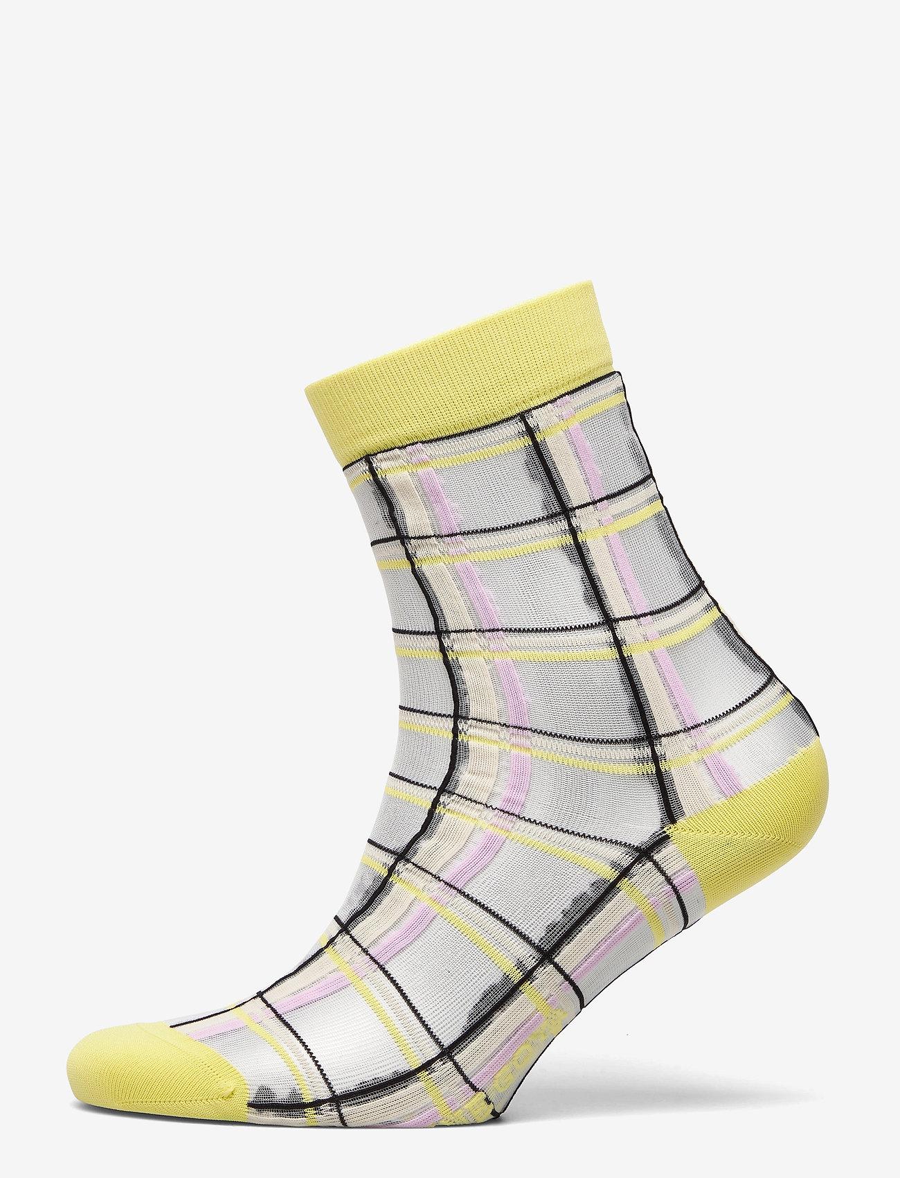 STINE GOYA - Tilly, 1131 Socks - sockor - checks - 0