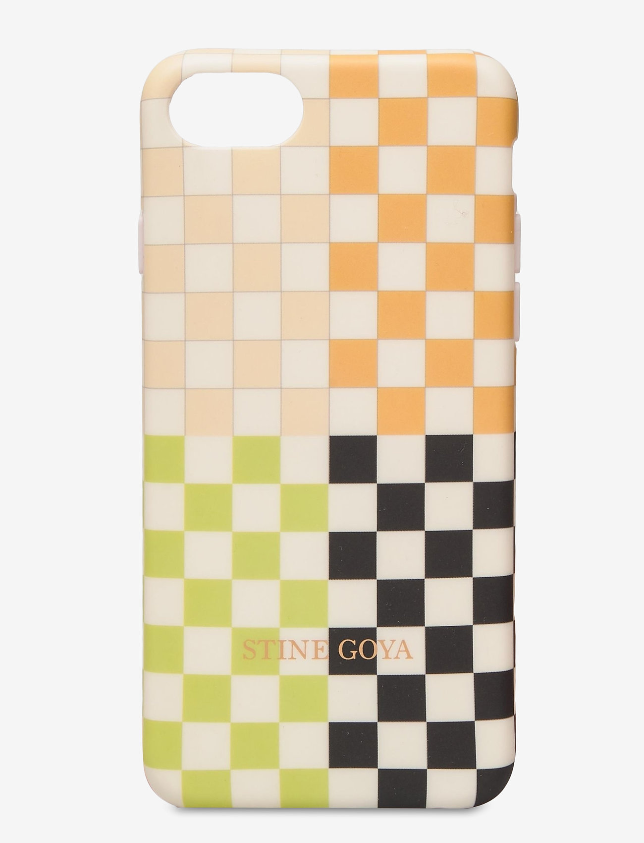 STINE GOYA - Molly, Iphone Cover 6/7/8 - mobilskal - checks - 0