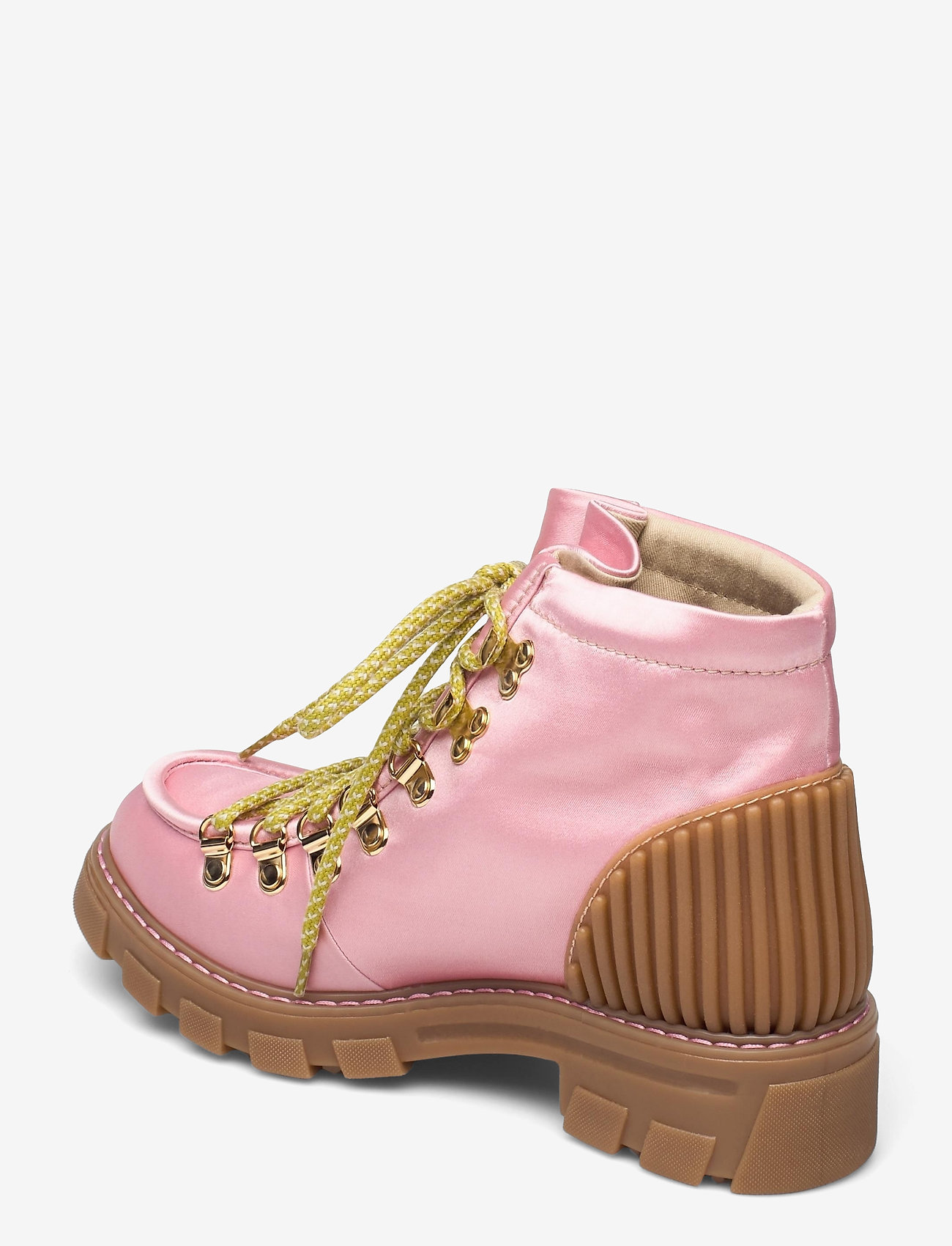STINE GOYA - Vera, 1154 Satin Boots - flade ankelstøvler - pink - 2