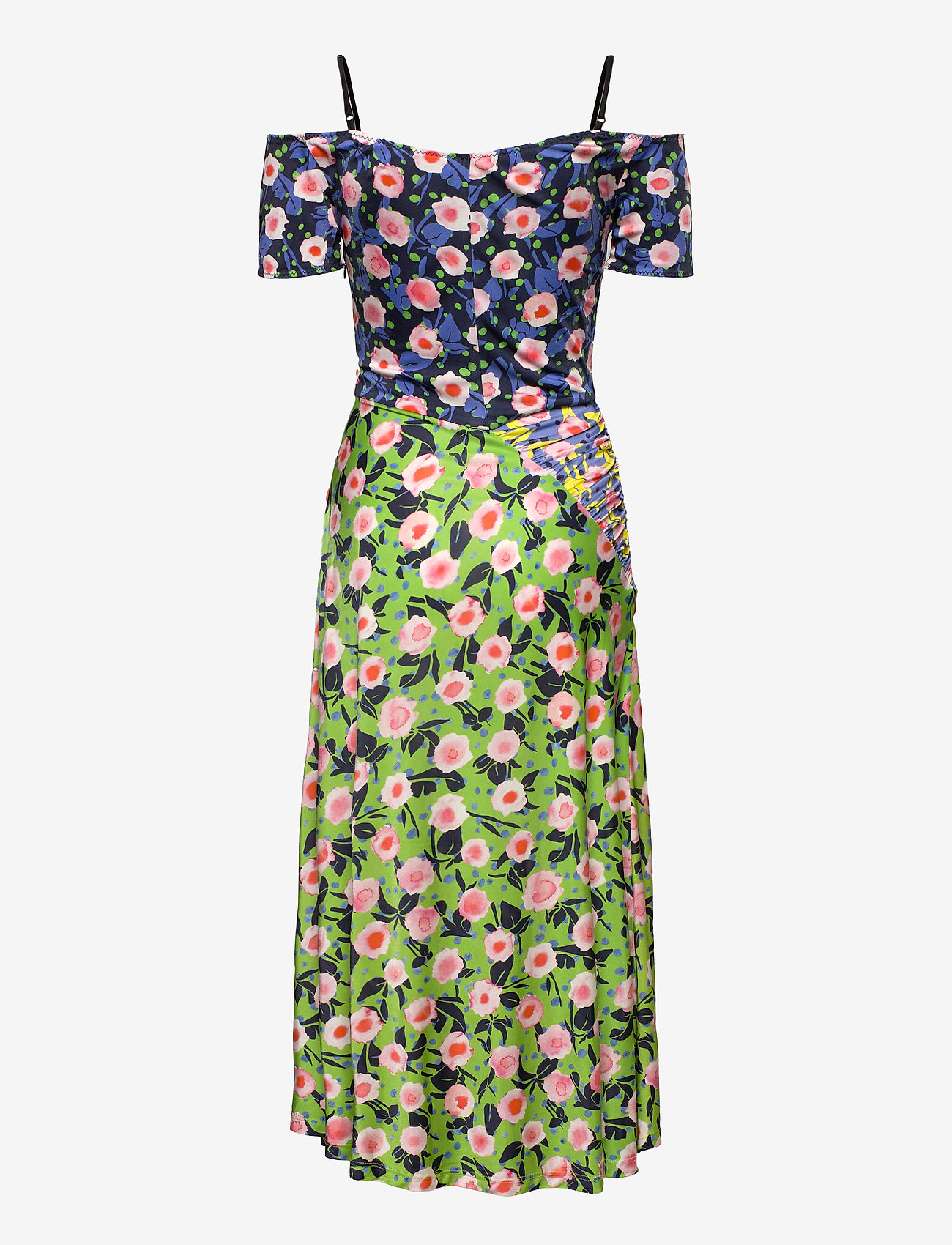 STINE GOYA - Selene, 1163 Viscose Jersey Printed - sommerkjoler - flowermarket mix - 2