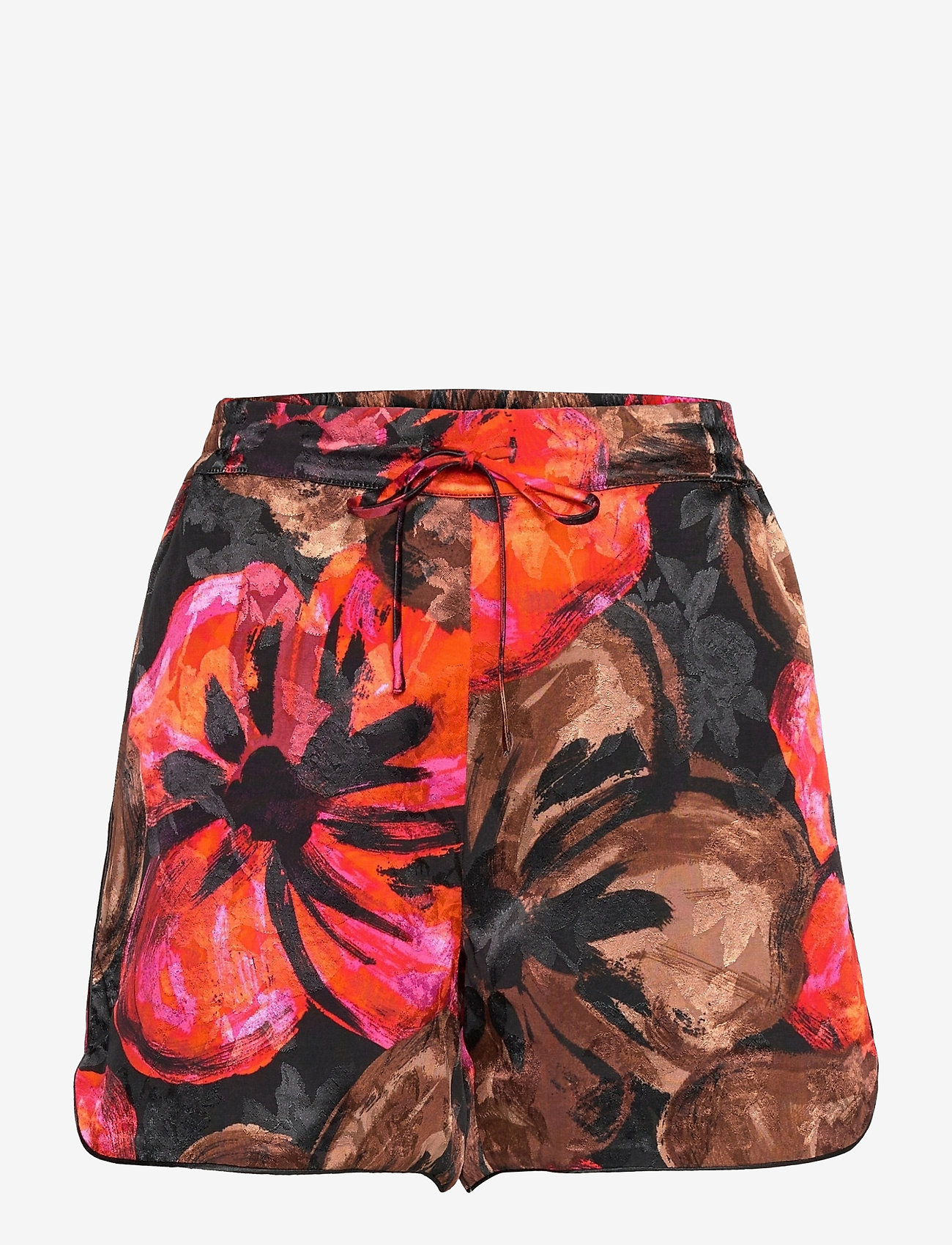STINE GOYA - Dane, 1167 Pajama Jacquard - casual shorts - opium brown - 0