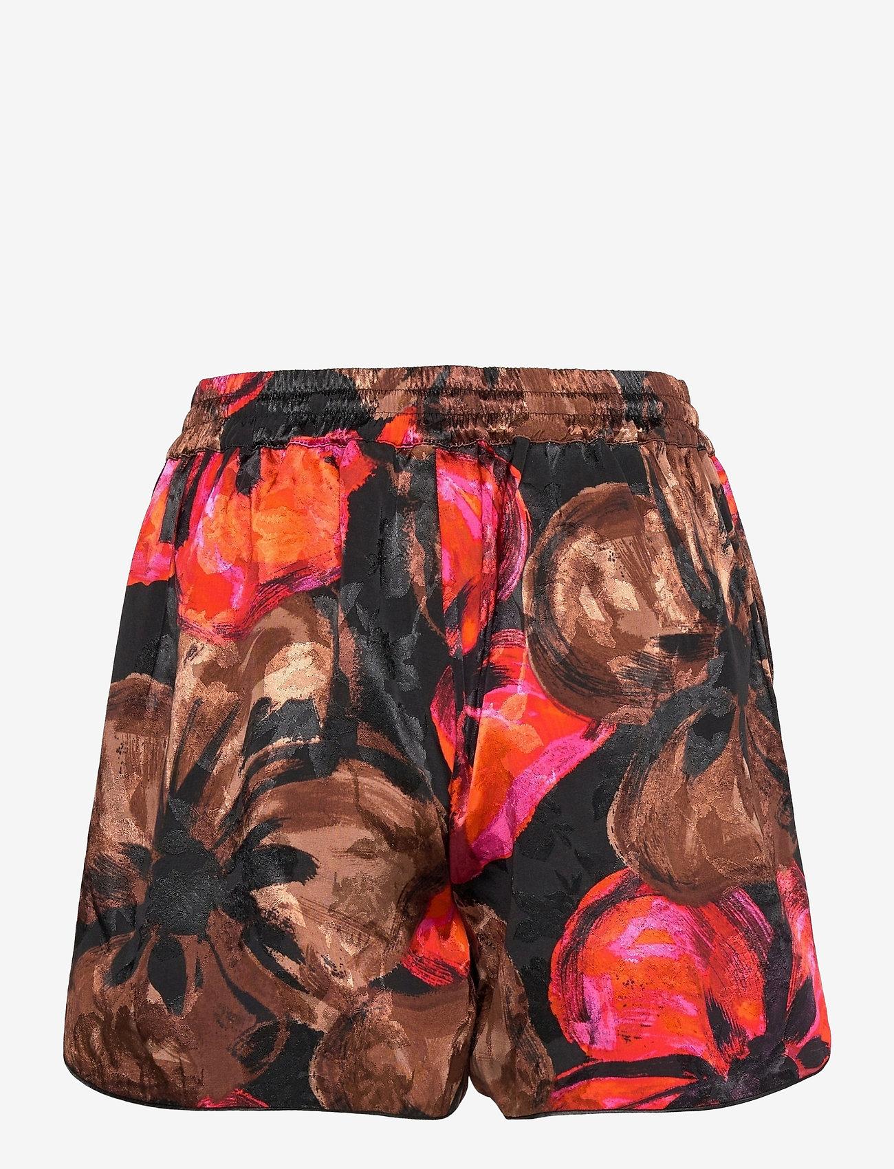 STINE GOYA - Dane, 1167 Pajama Jacquard - casual shorts - opium brown - 1