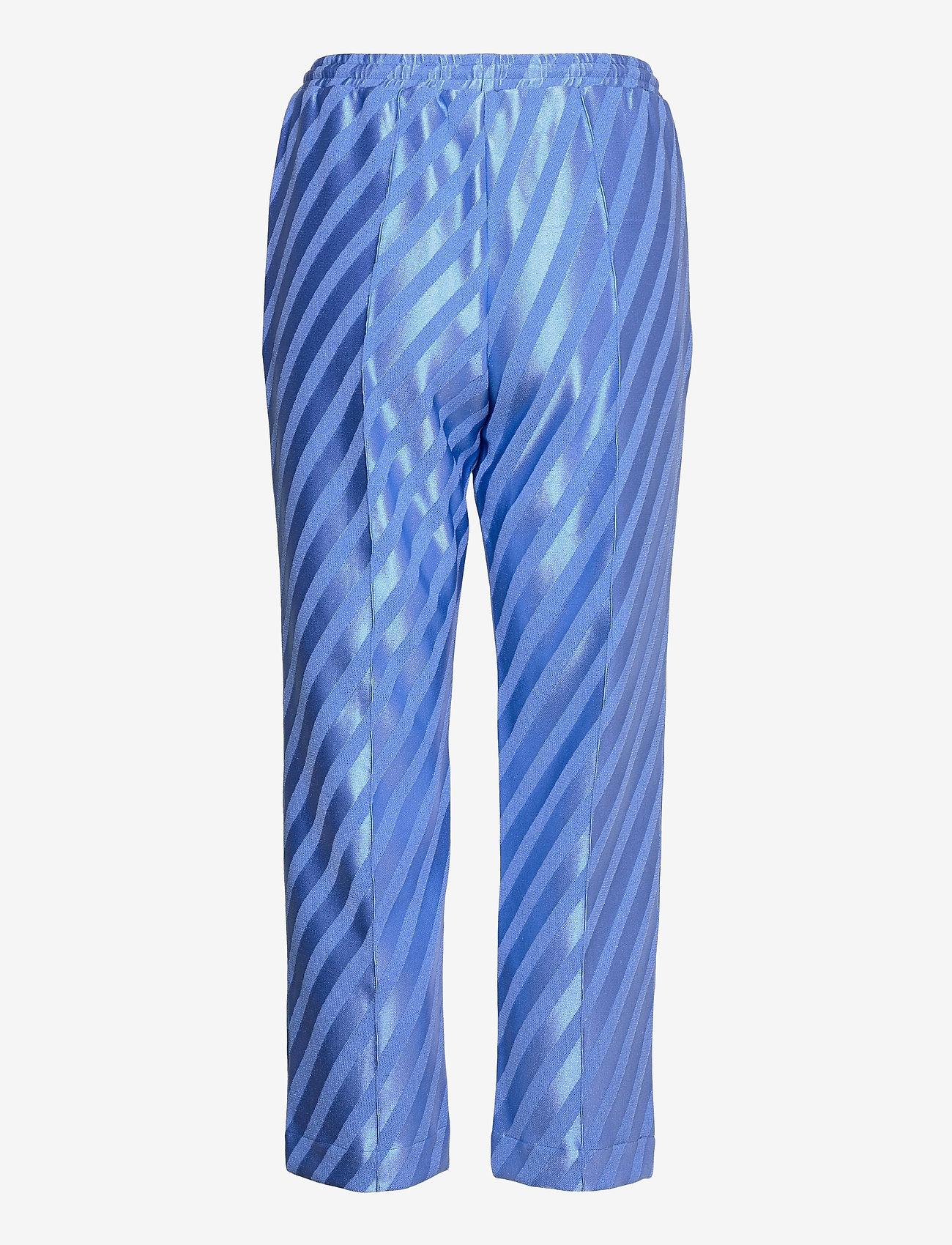 STINE GOYA - Uili, 1160 Stripe Jersey - casual bukser - stripes blue - 1