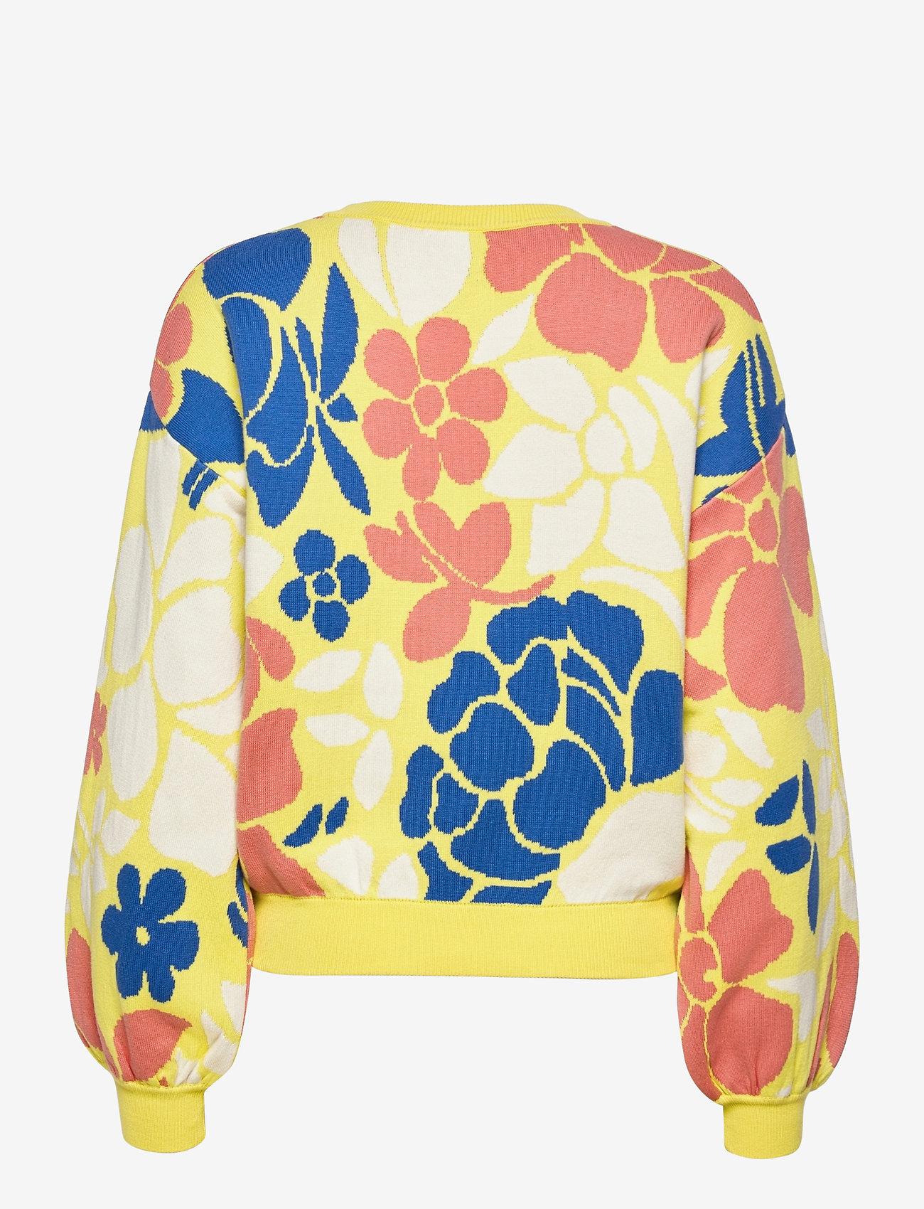 STINE GOYA - Karli, 1210 Banana Leaf Knit - trøjer - yellow banana leaf - 1