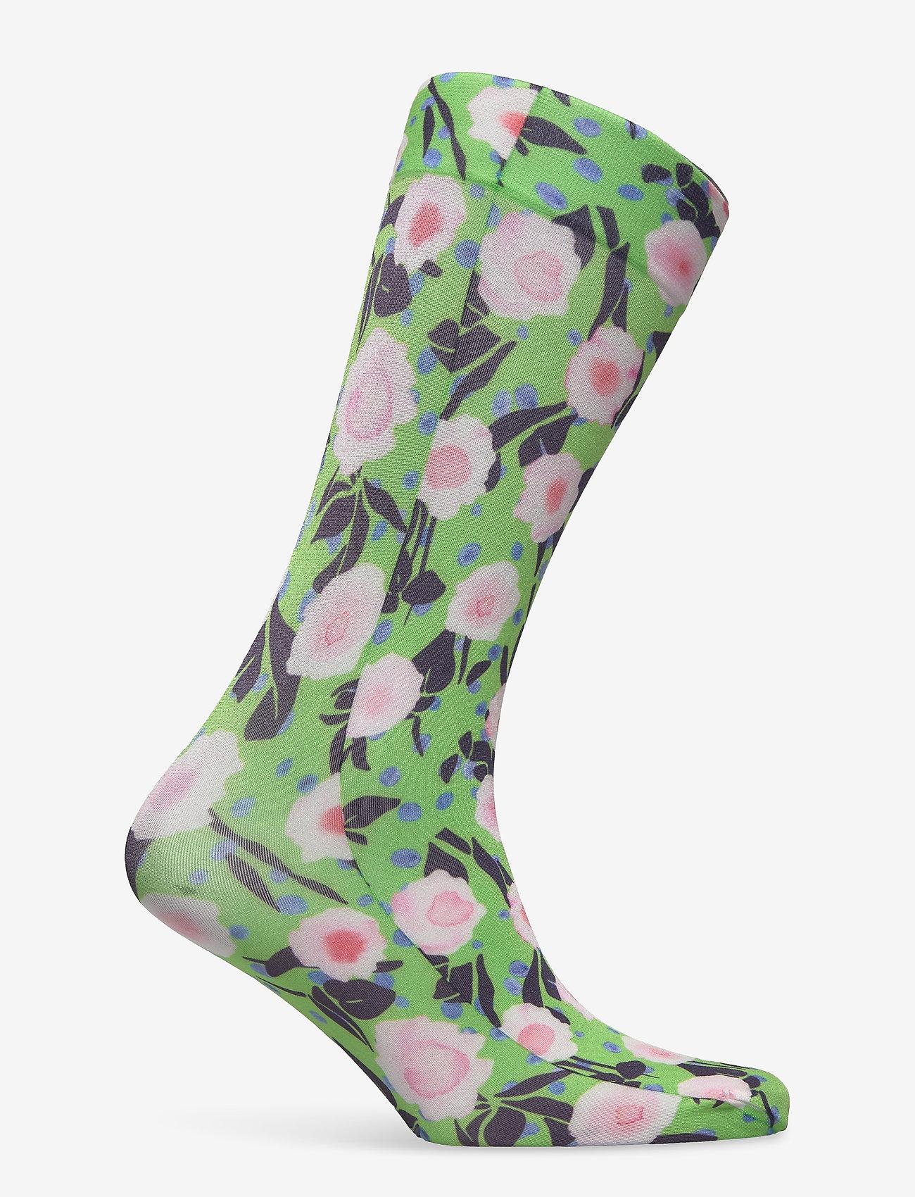 STINE GOYA - Verita, 1189 Socks - sokker - flower garden - 1