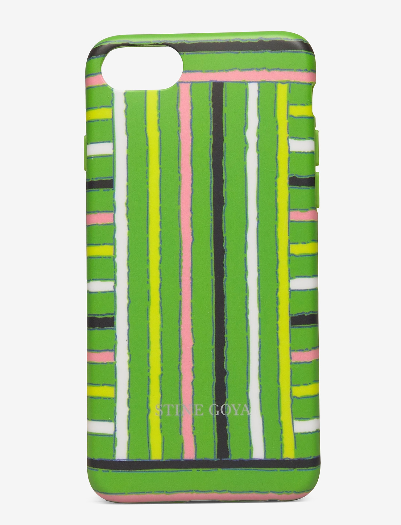 STINE GOYA - Molly, Iphone Cover 6/7/8 - mobilskal - stripes green - 0