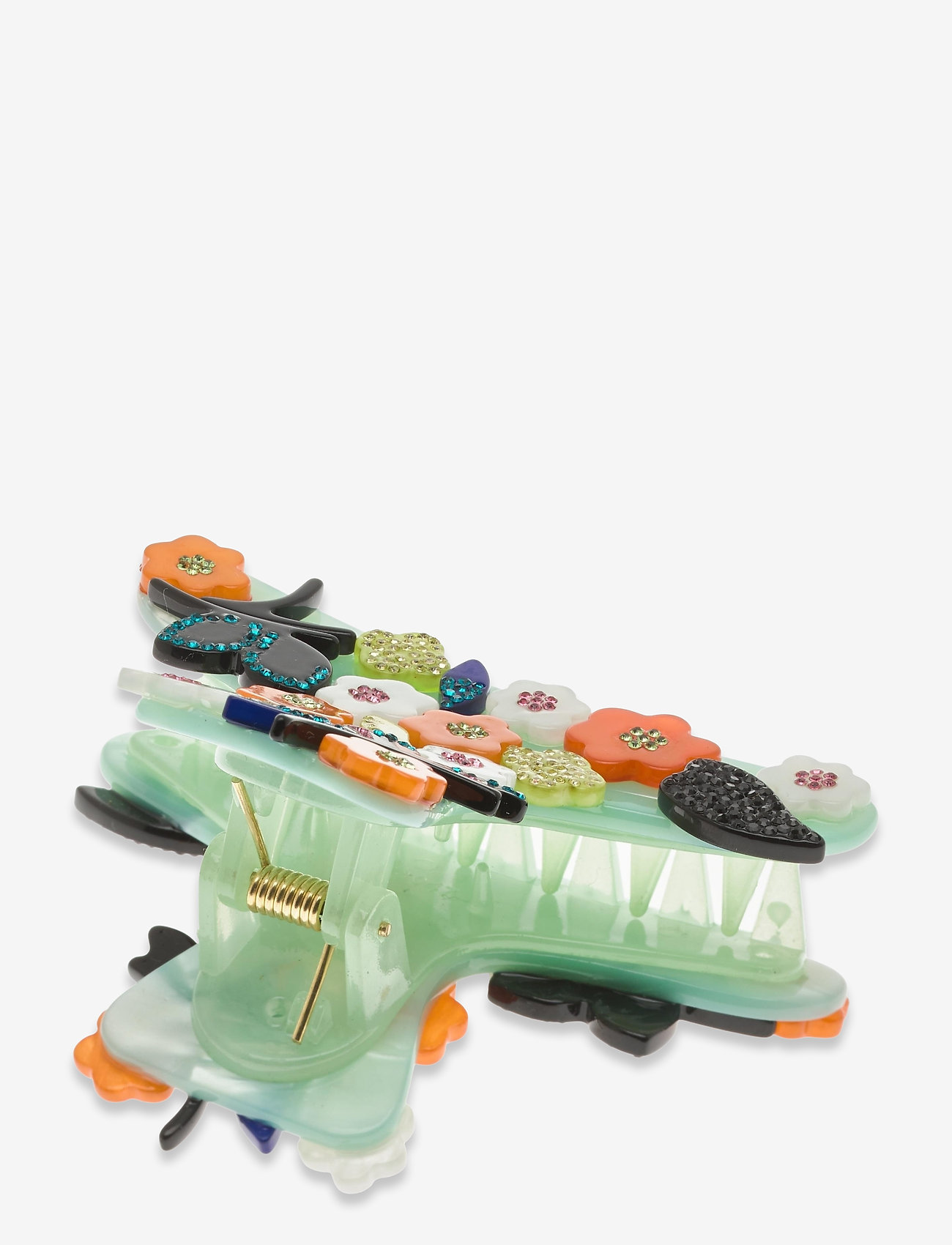 STINE GOYA - Crocodile, 1204 Hair Accessories - hårspænder - aqua - 1