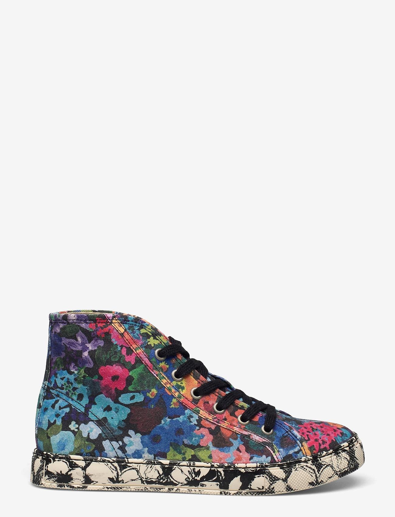 STINE GOYA - Zita, 1192 Cotton Canvas Sneakers - lage sneakers - 60s allover - 1