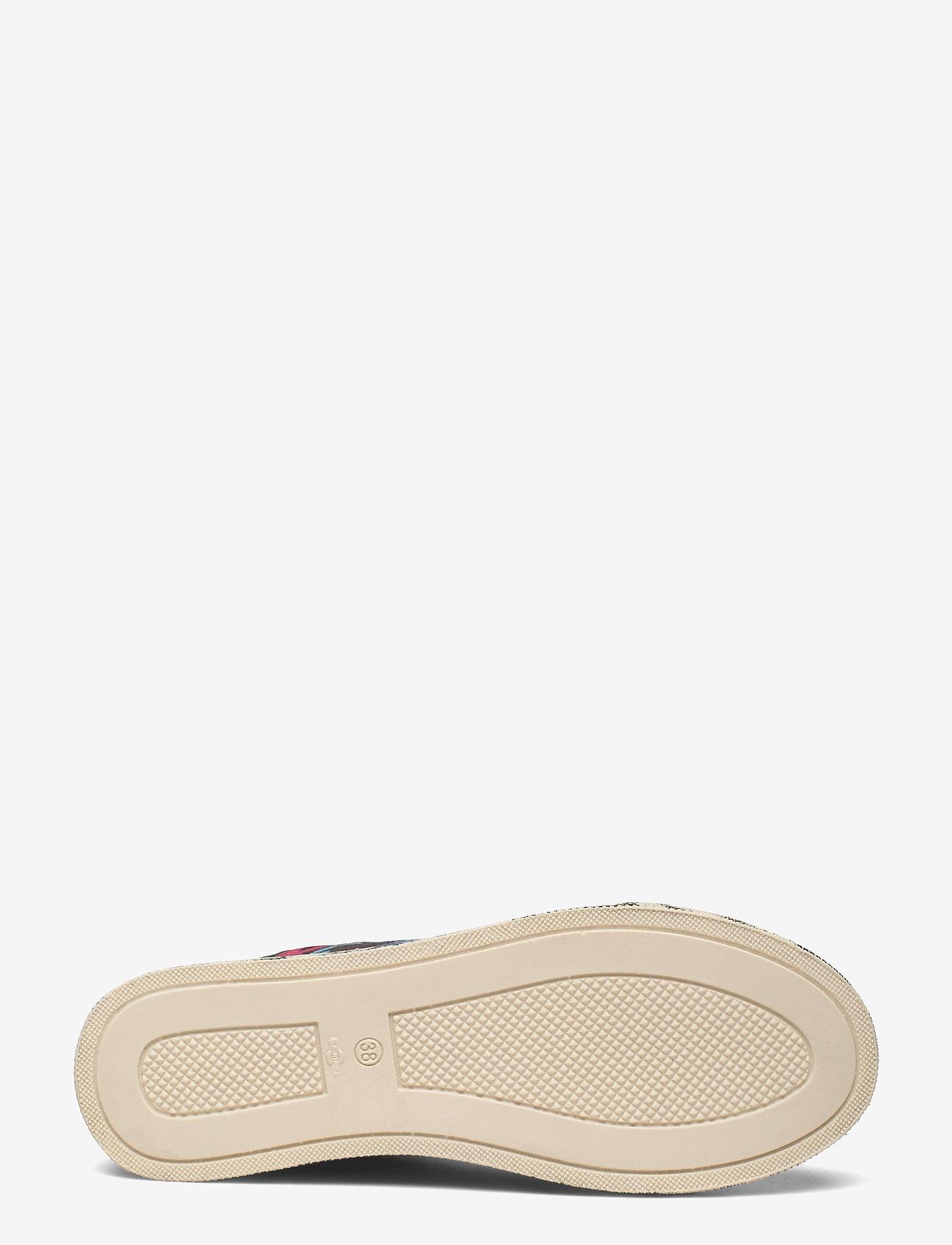 STINE GOYA - Zita, 1192 Cotton Canvas Sneakers - lage sneakers - 60s allover - 4