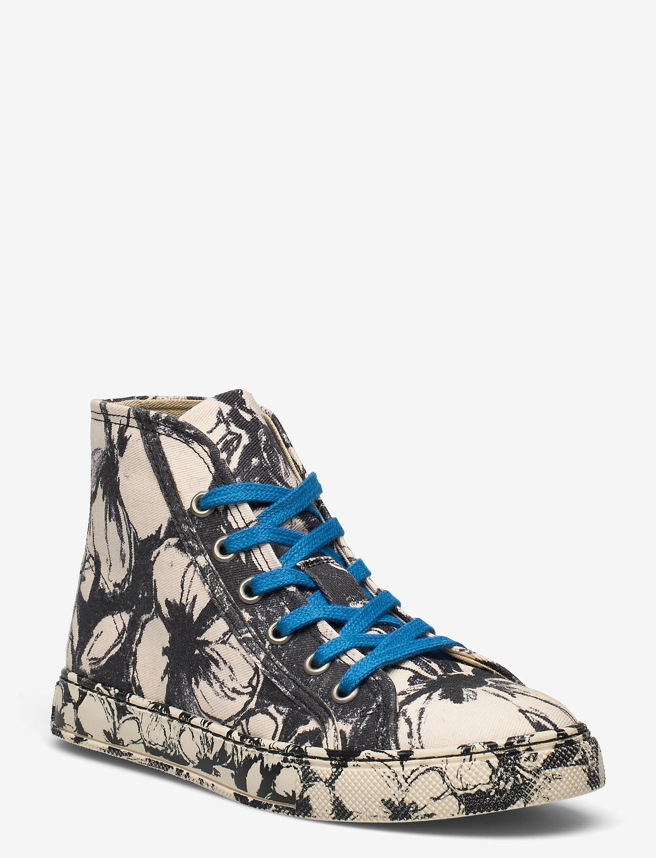 STINE GOYA - Zita, 1192 Cotton Canvas Sneakers - lave sneakers - opium negative - 0