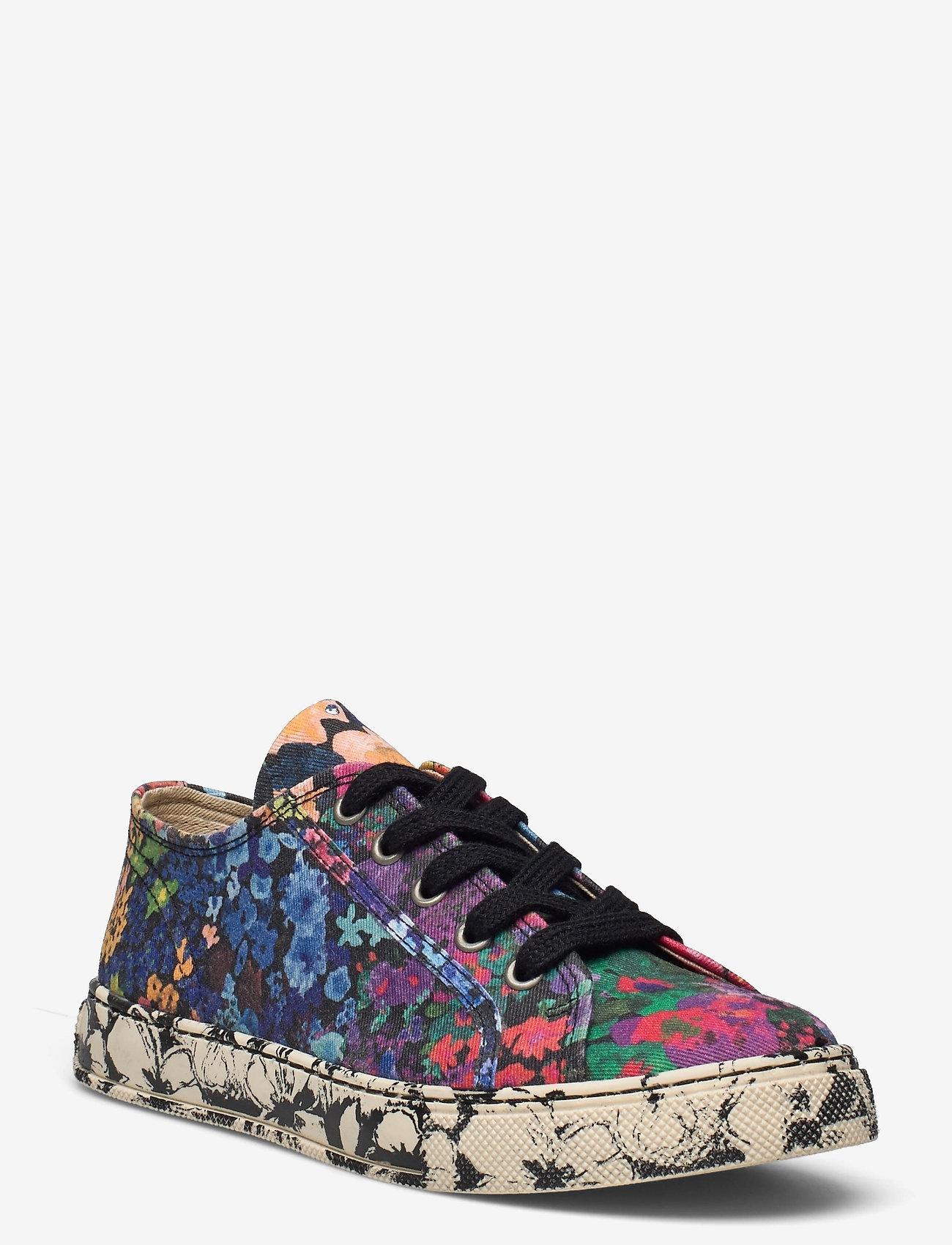 STINE GOYA - Eneko, 1192 Cotton Canvas Sneakers - lage sneakers - 60s allover - 0
