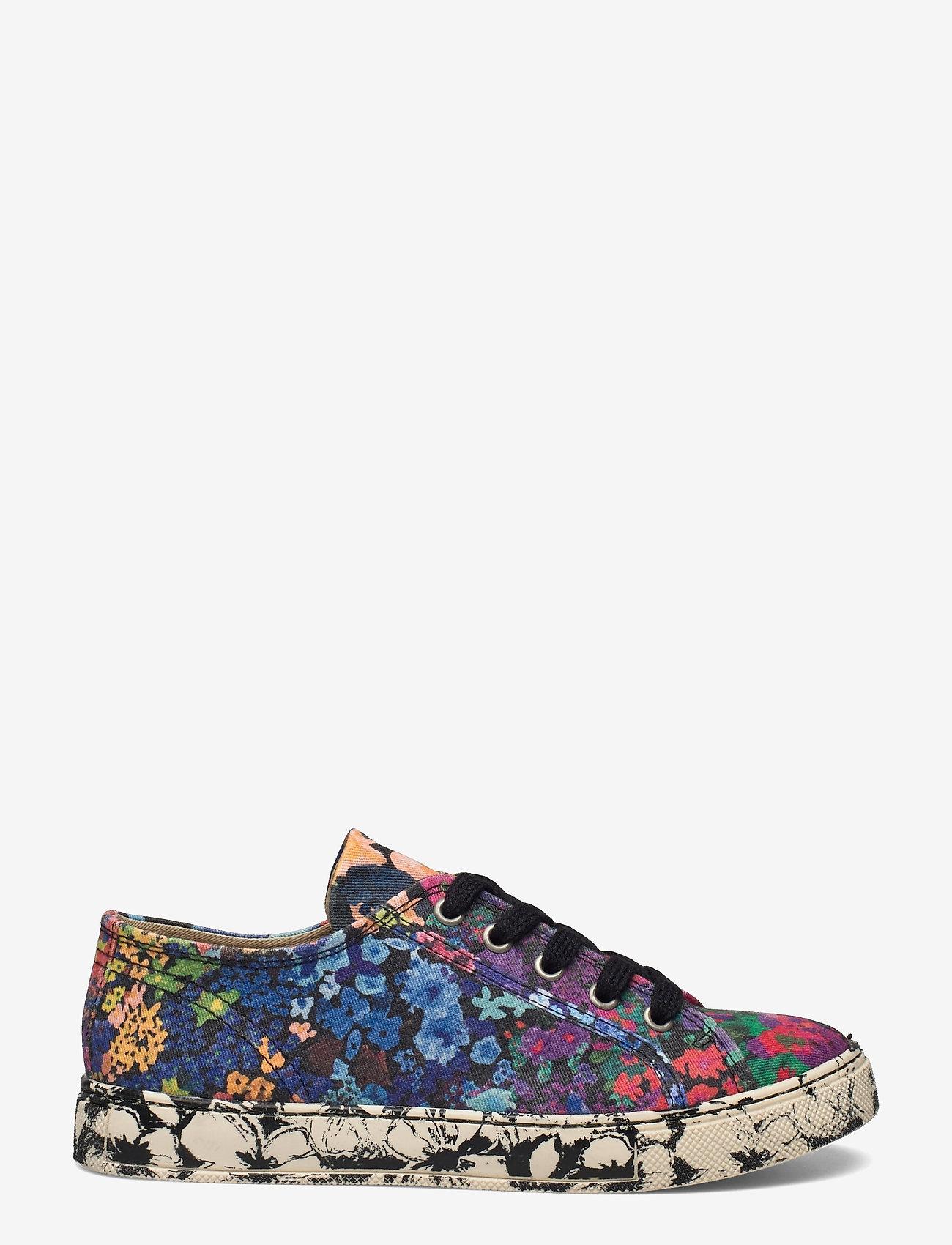 STINE GOYA - Eneko, 1192 Cotton Canvas Sneakers - lage sneakers - 60s allover - 1
