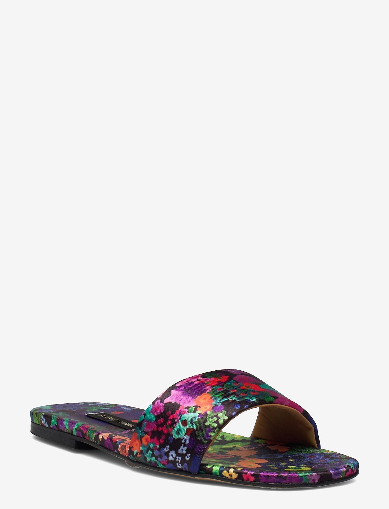 STINE GOYA - Henra, 1193 Satin Shoes - flade sandaler - 60s allover - 0
