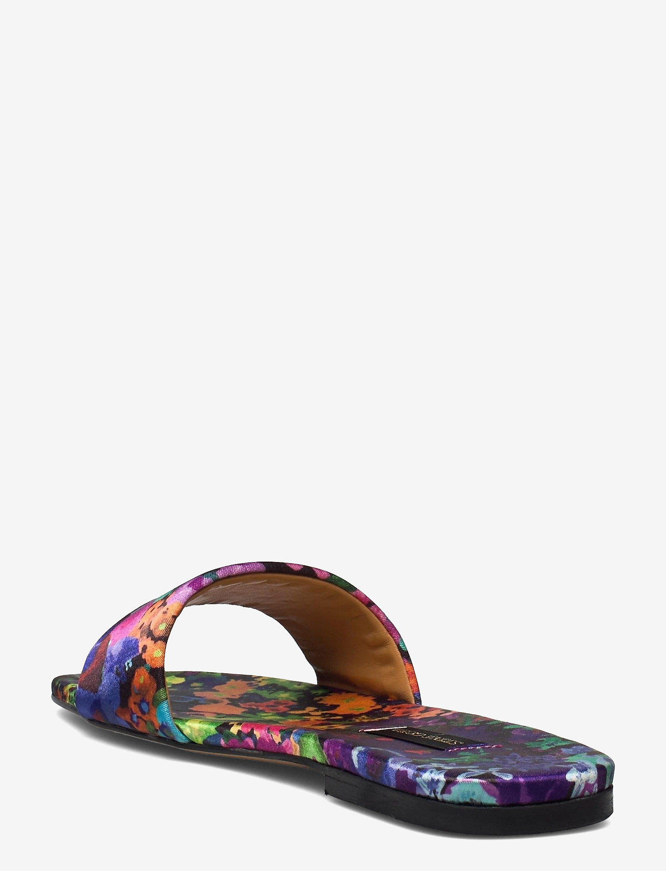 STINE GOYA - Henra, 1193 Satin Shoes - flade sandaler - 60s allover - 2