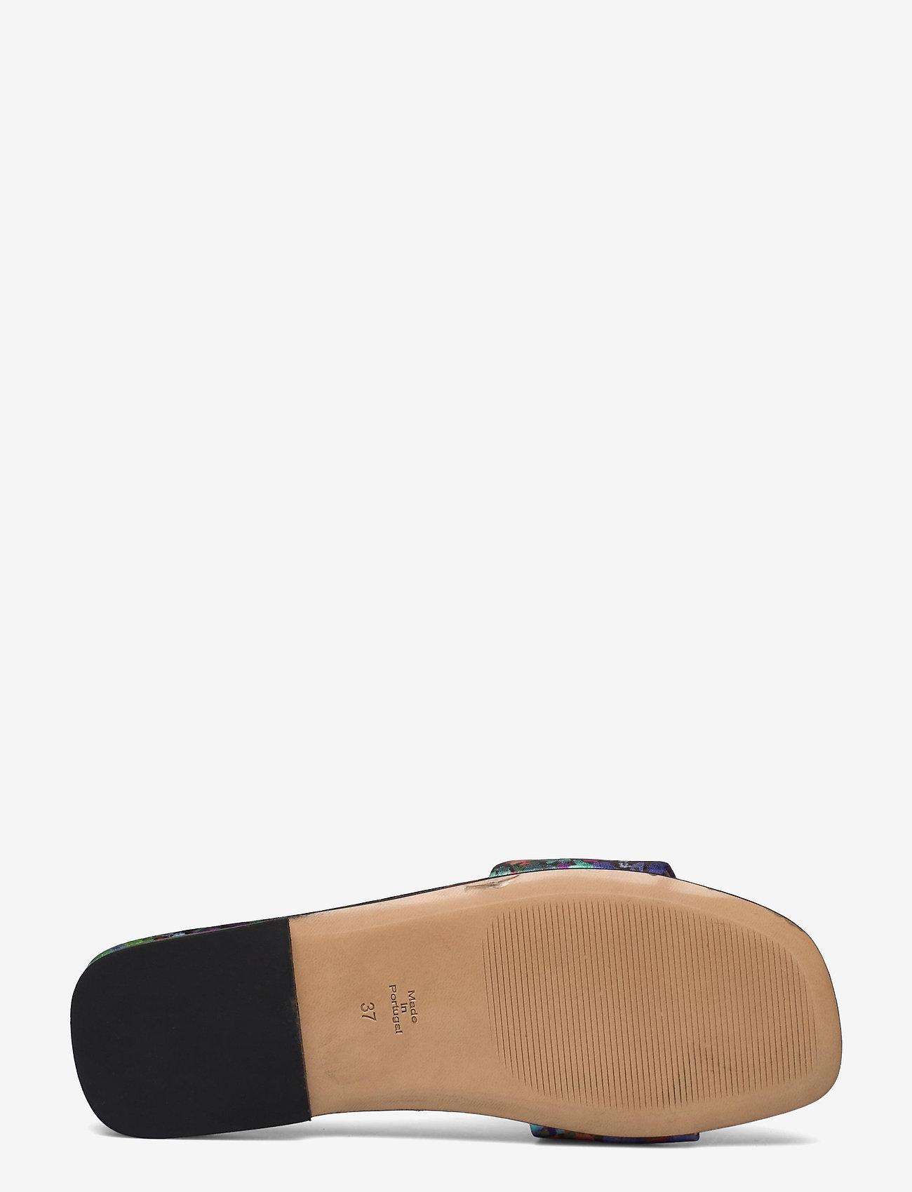 STINE GOYA - Henra, 1193 Satin Shoes - flade sandaler - 60s allover - 4