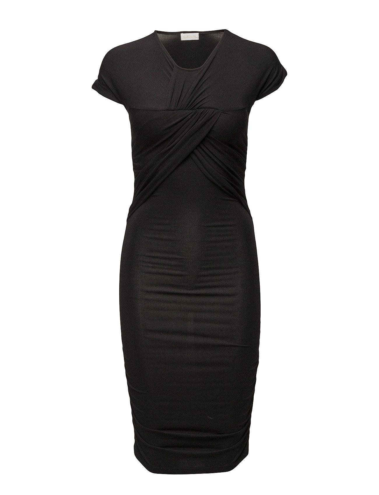 STINE GOYA Brush Dress - BLACK