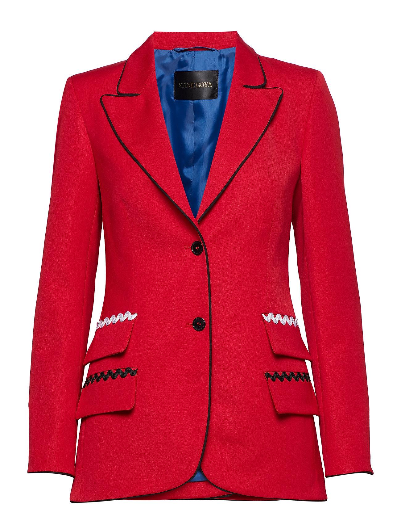 STINE GOYA Iris, 445 Garnet Tailoring - GARNET