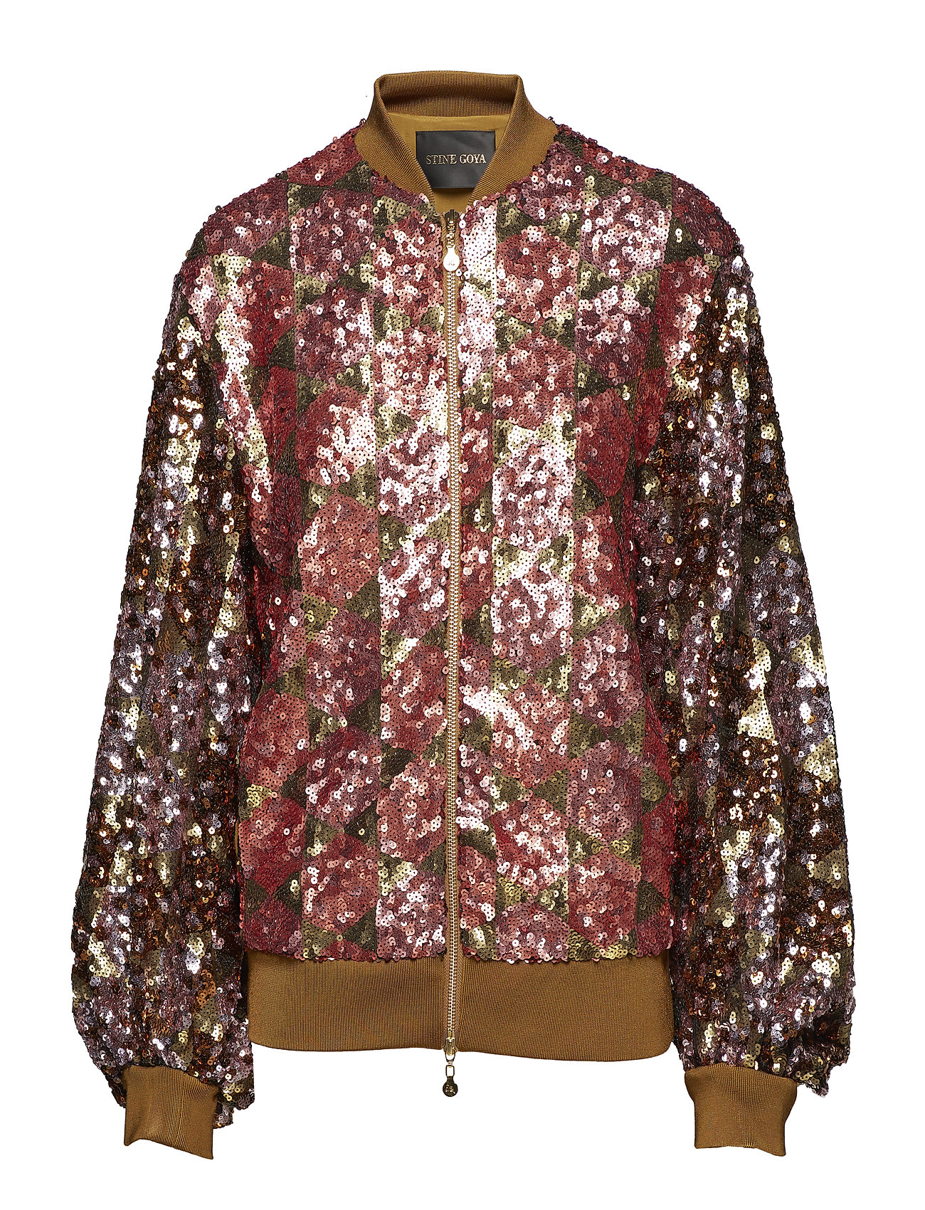 STINE GOYA Clive, 443 Sequins Jacket - HEXAGONS SOFT