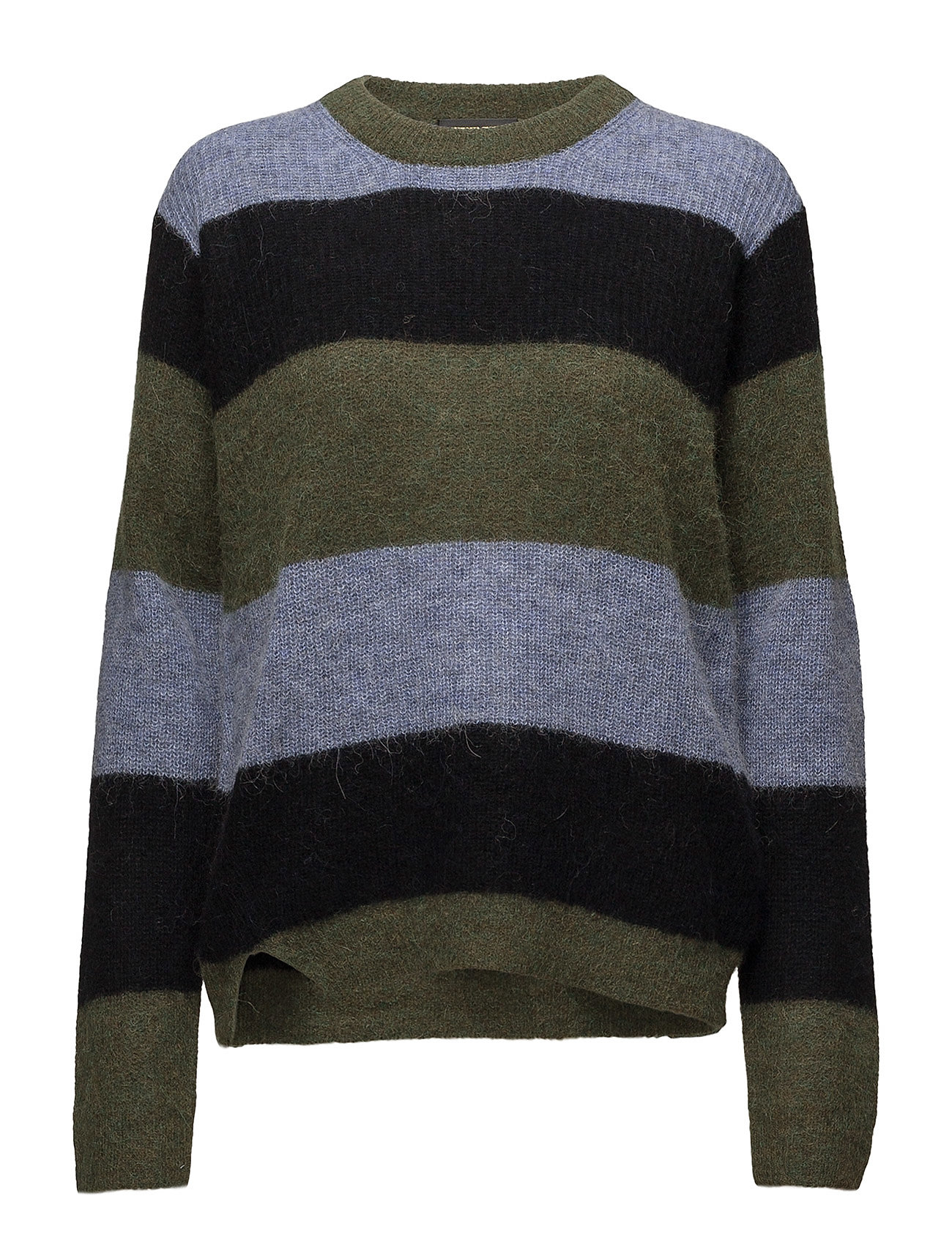 STINE GOYA Livia, 435 Forest Stripe Knit