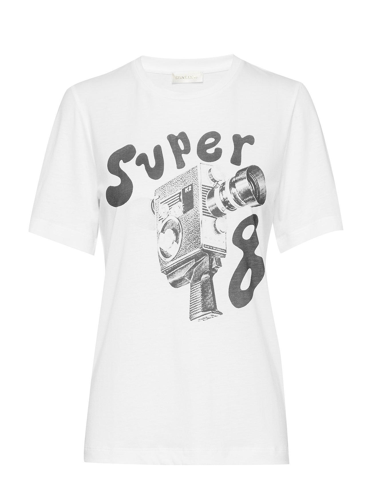 STINE GOYA Milo, 461 Printed Tee - SUPER 8