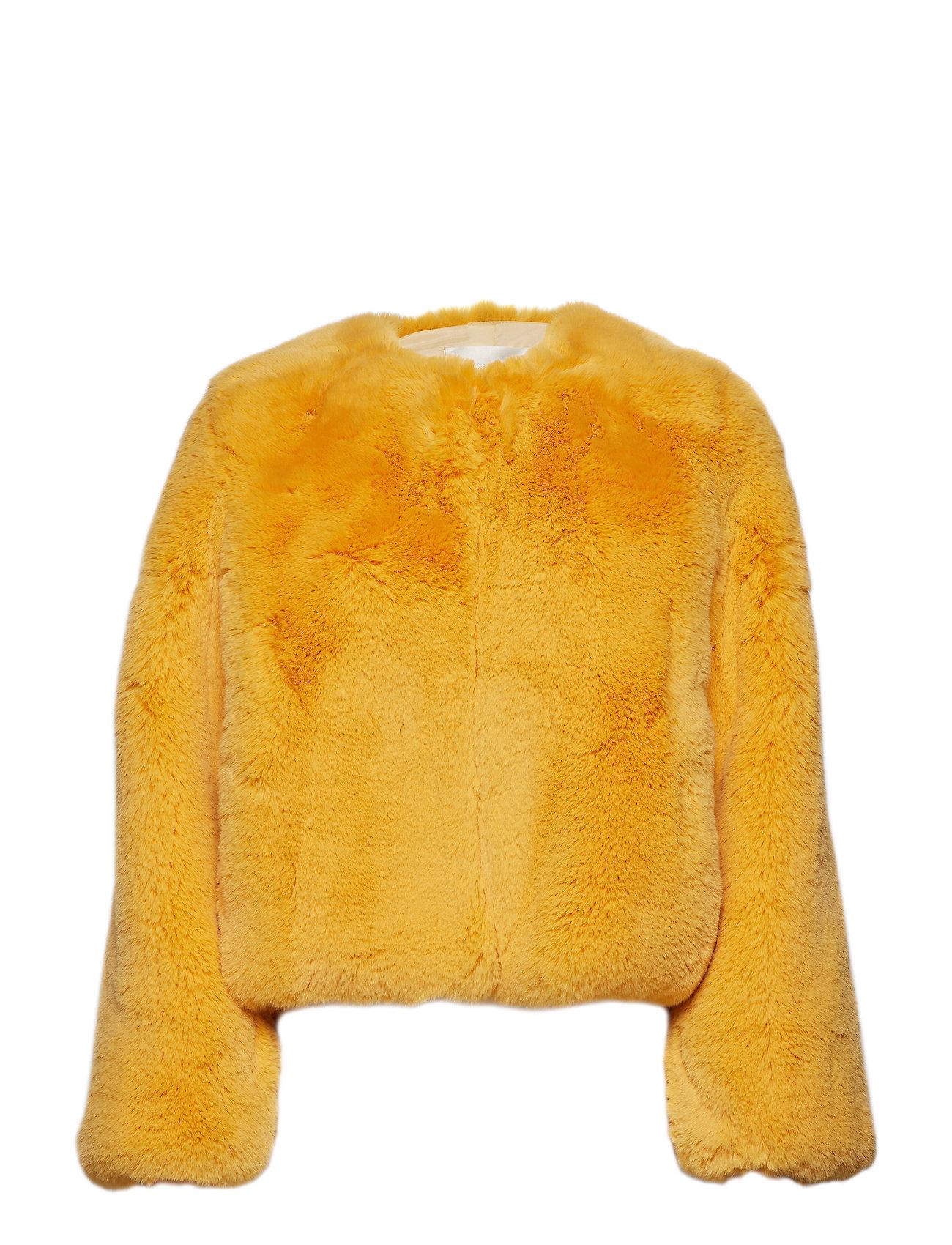 STINE GOYA Randy, 533 Faux Fur Outerwear - AMBER