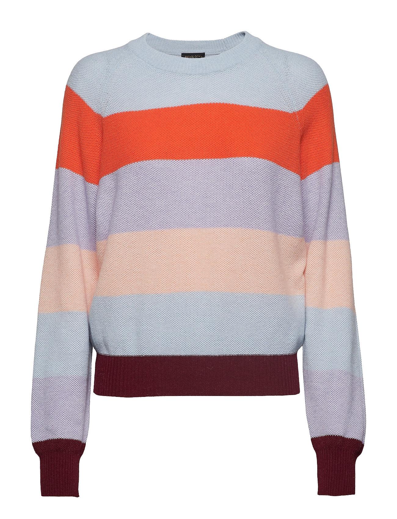 STINE GOYA Magdalena, 584 Stripes Knitwear