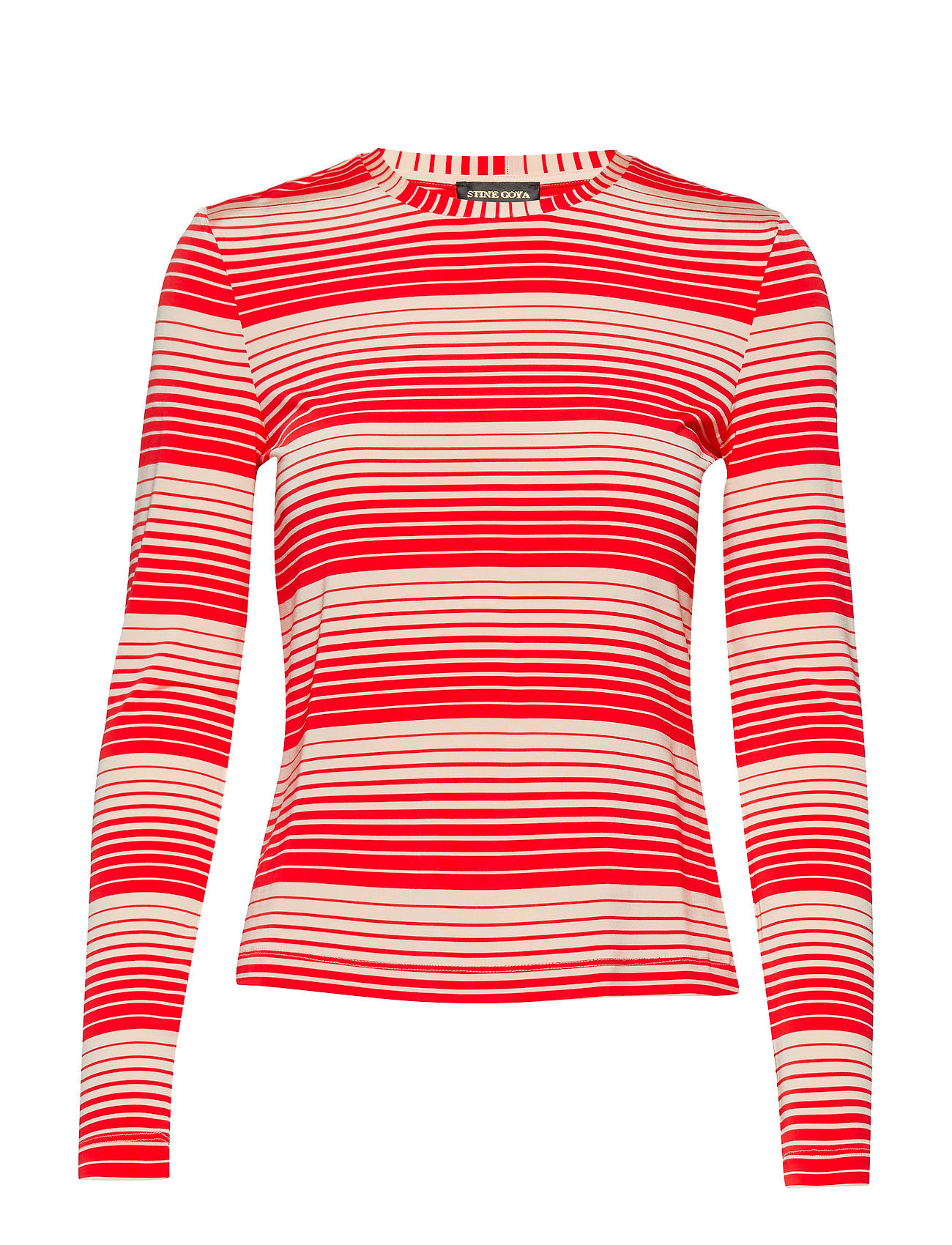 STINE GOYA Maya, 623 Light Jersey - STRIPES RED