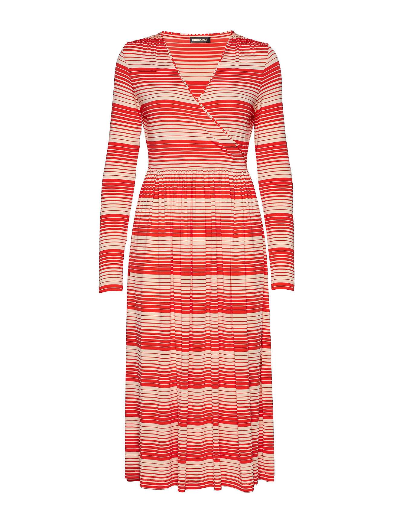 STINE GOYA Alina, 623 Light Jersey - STRIPES RED