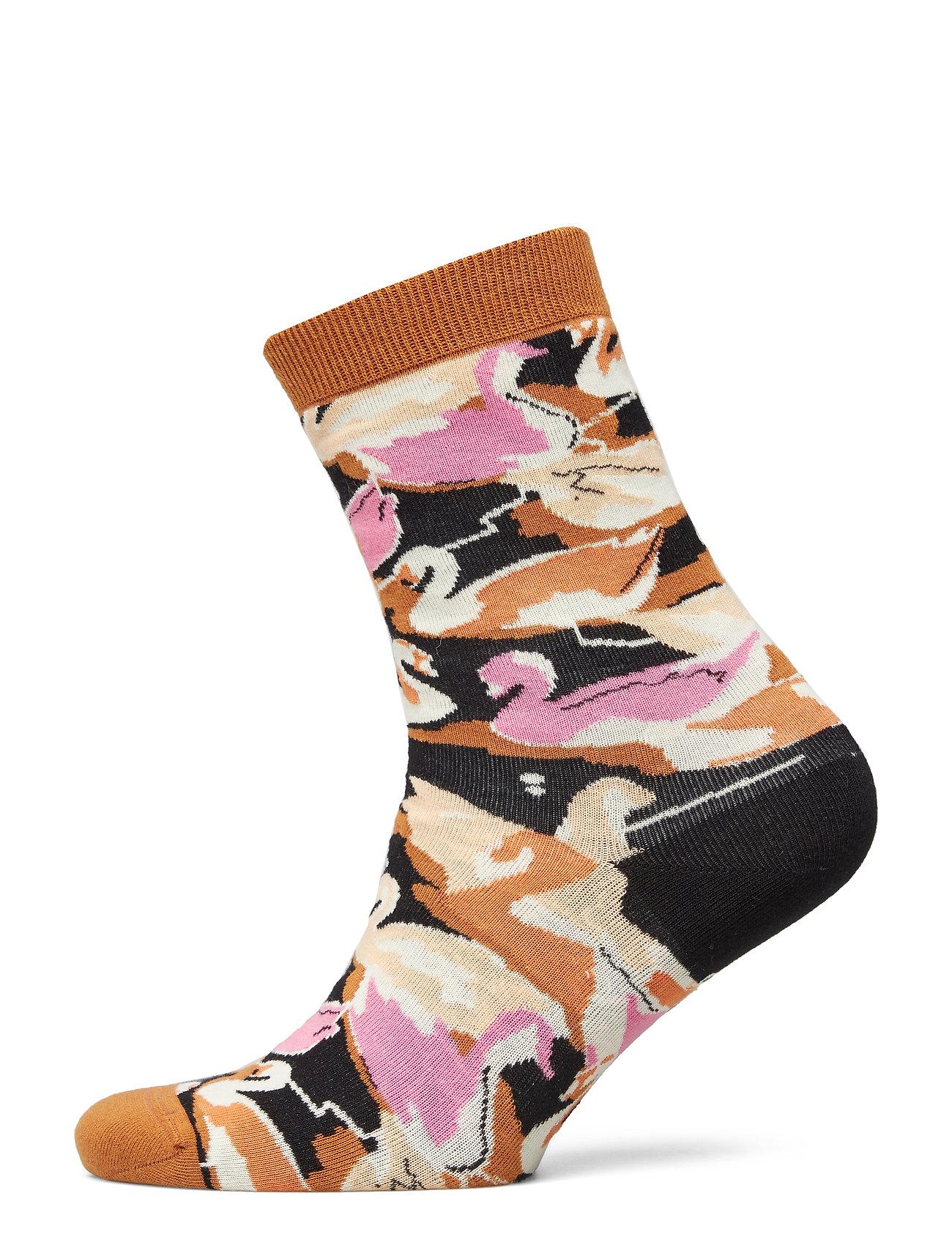 STINE GOYA Iggy, 640 Socks - SWANS BLACK