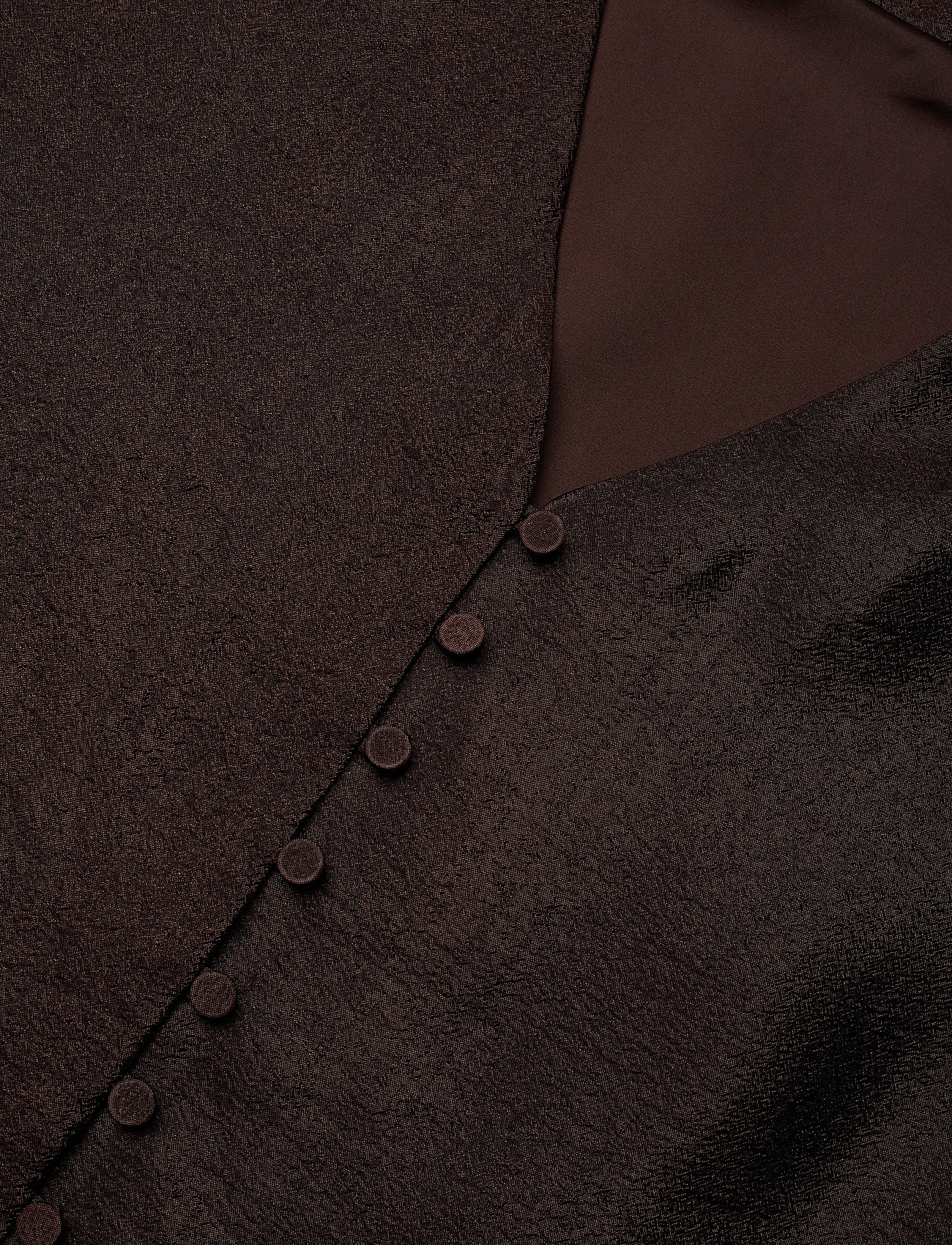 STINE GOYA - Farrow, 699 Textured Polyester - cocktailkjoler - mocha - 3