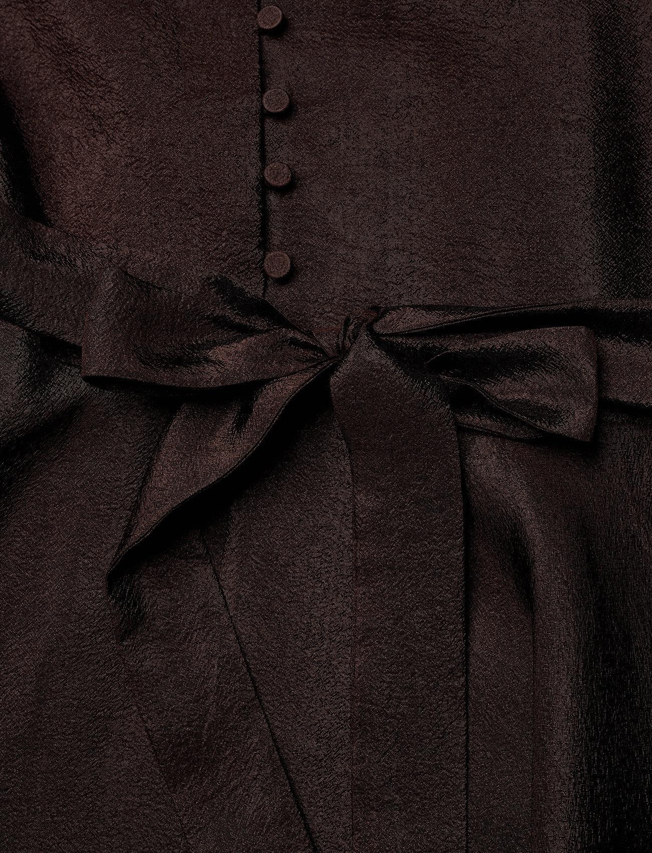 STINE GOYA - Farrow, 699 Textured Polyester - cocktailkjoler - mocha - 4
