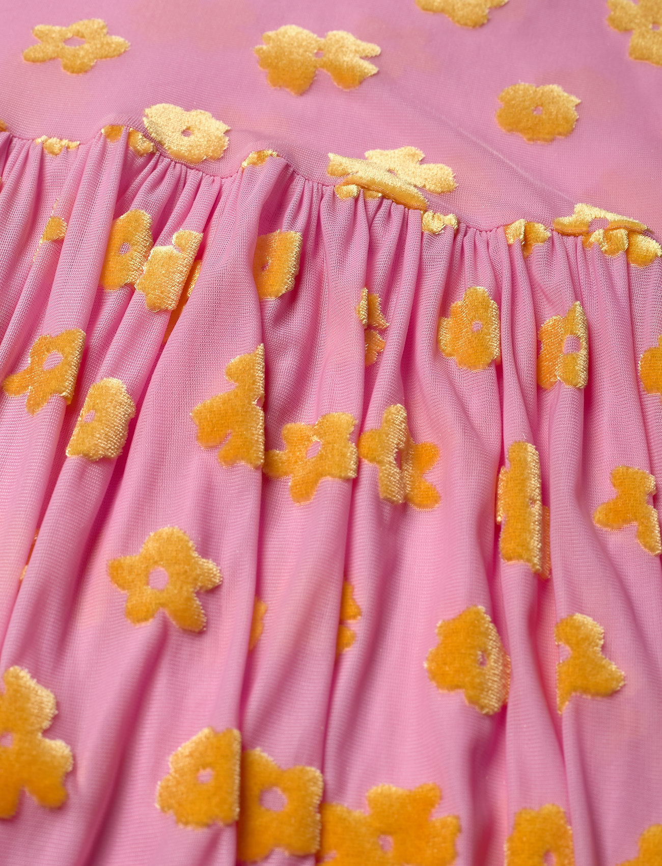 STINE GOYA - Juliana, 773 Velvet Devore - festkjoler - daisy pink - 3