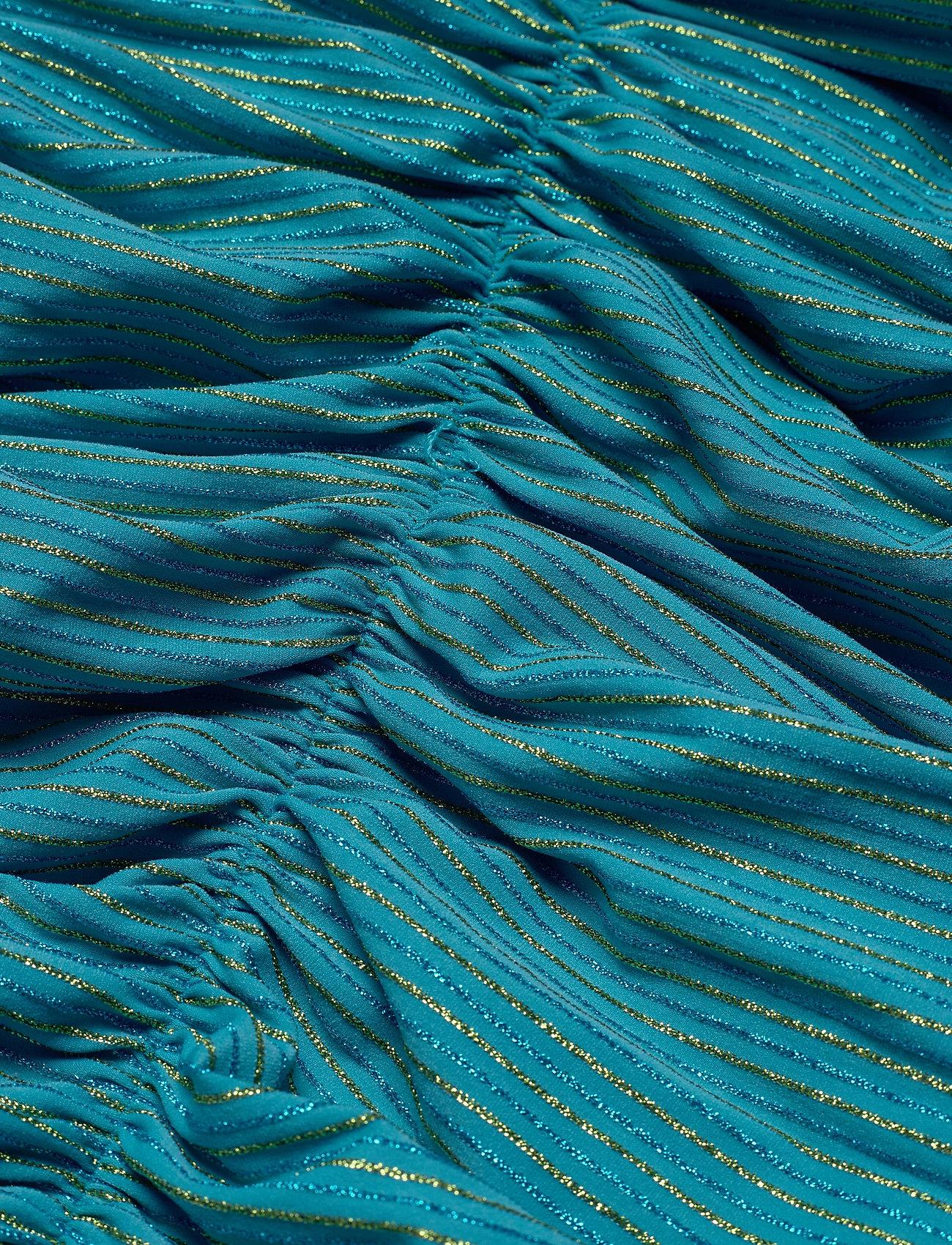 STINE GOYA - Blake, 850 Glitter Jersey - stramme kjoler - turquoise - 3